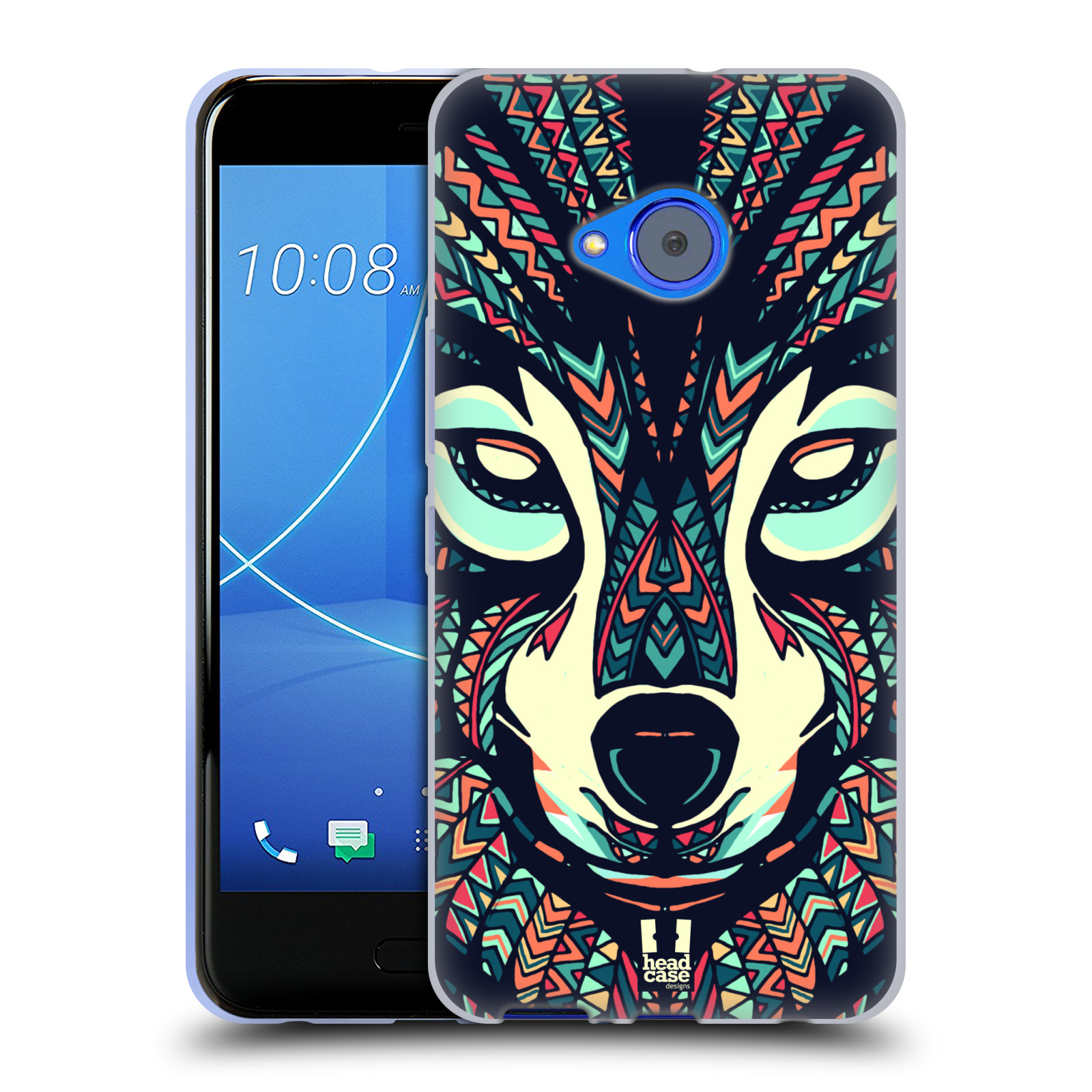 Silikonové pouzdro na mobil HTC U11 Life - Head Case - AZTEC VLK