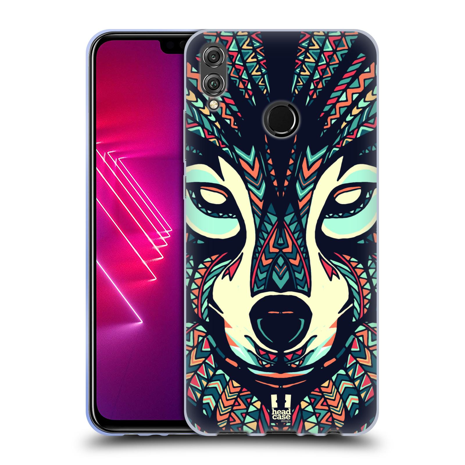 Silikonové pouzdro na mobil Honor View 10 Lite - Head Case - AZTEC VLK