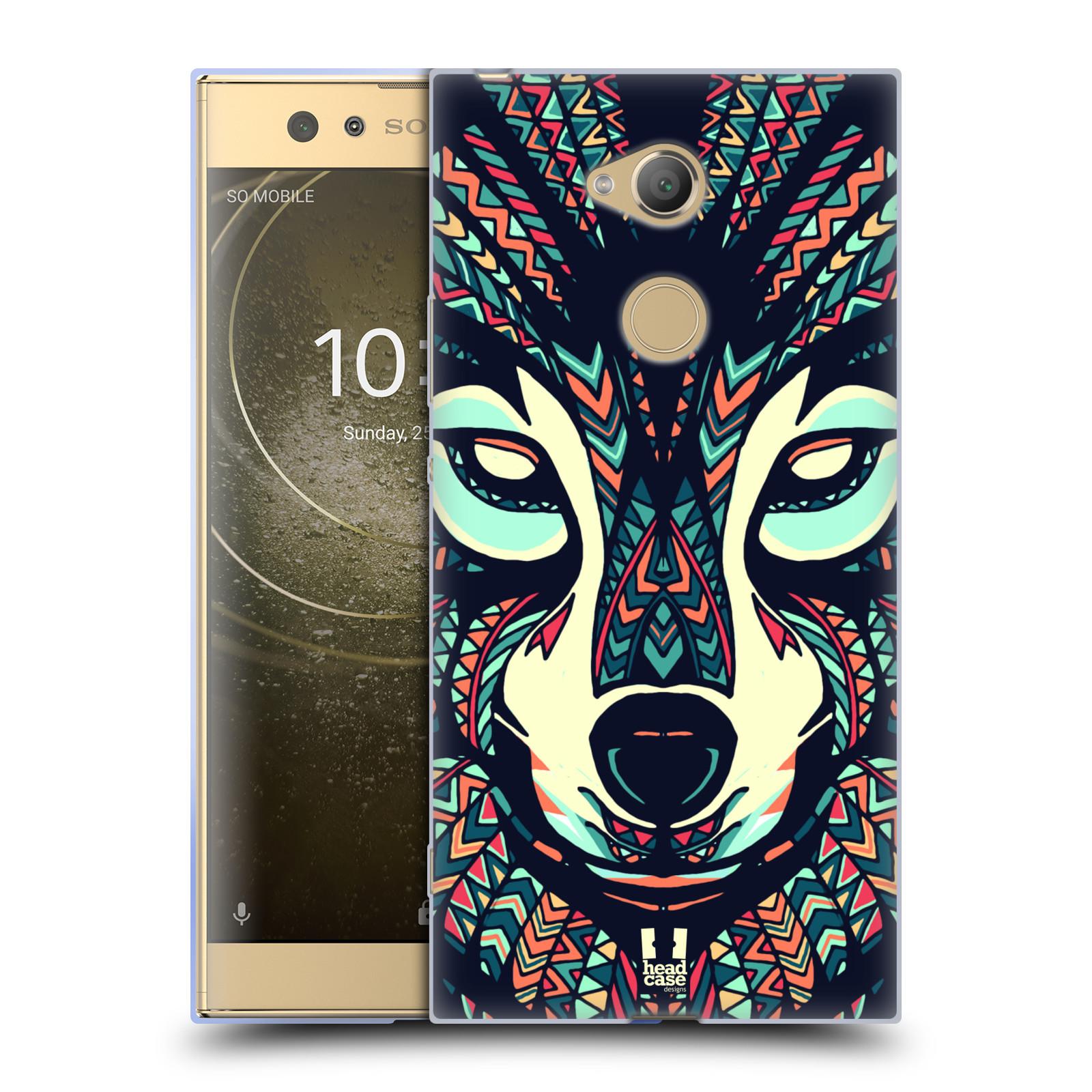 Silikonové pouzdro na mobil Sony Xperia XA2 Ultra - Head Case - AZTEC VLK