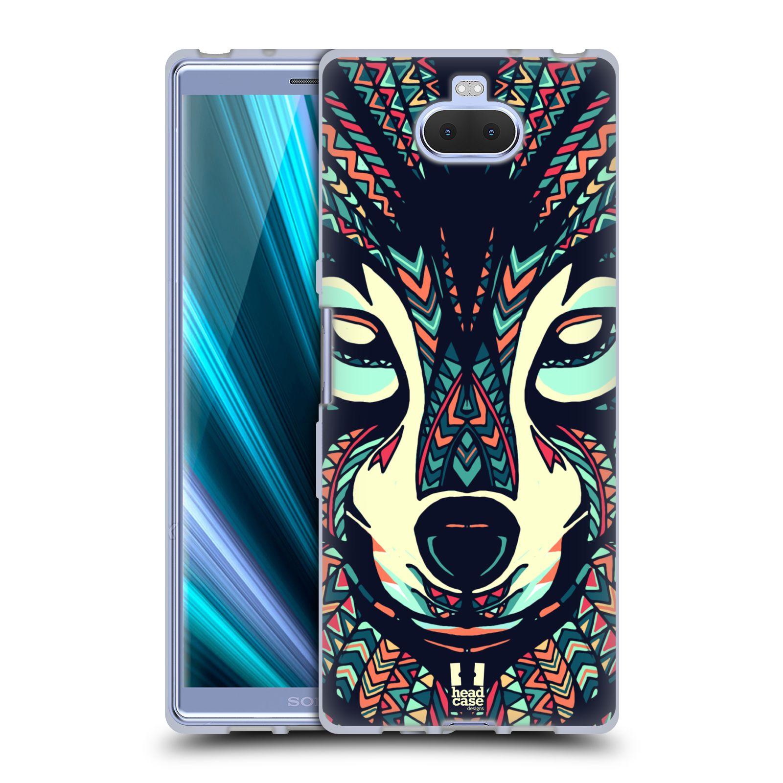 Silikonové pouzdro na mobil Sony Xperia 10 - Head Case - AZTEC VLK