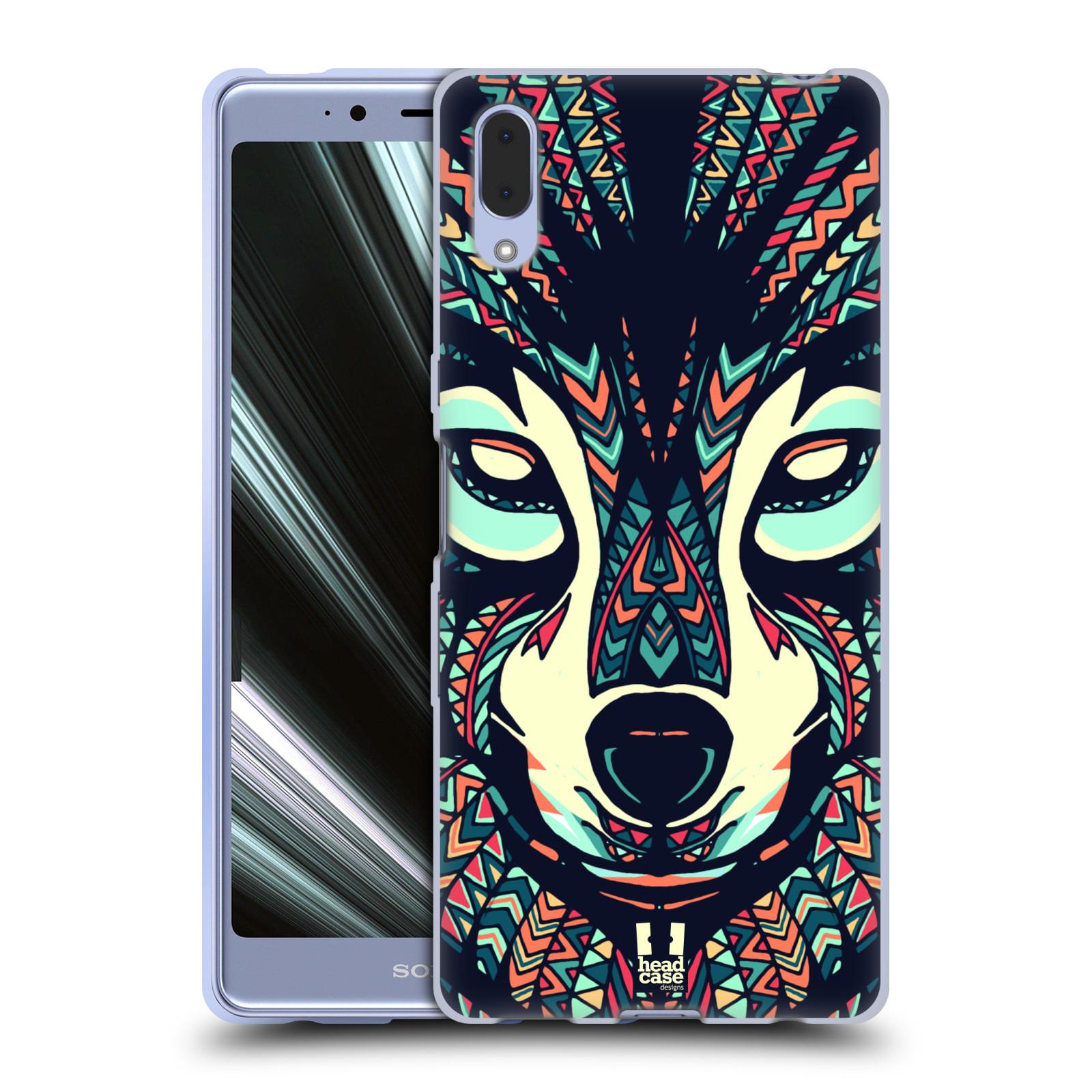 Silikonové pouzdro na mobil Sony Xperia L3 - Head Case - AZTEC VLK