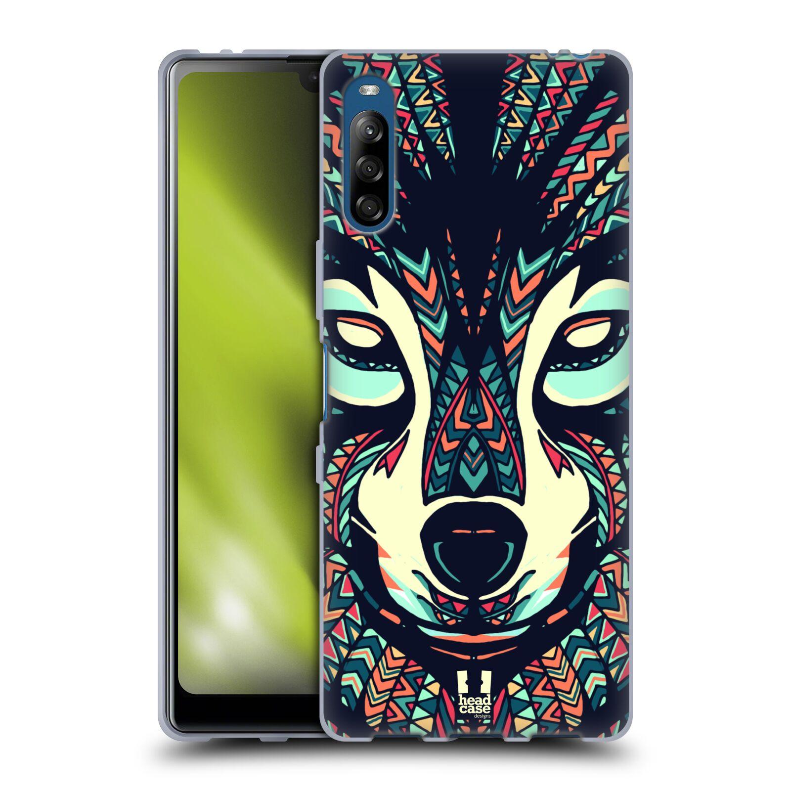 Silikonové pouzdro na mobil Sony Xperia L4 - Head Case - AZTEC VLK