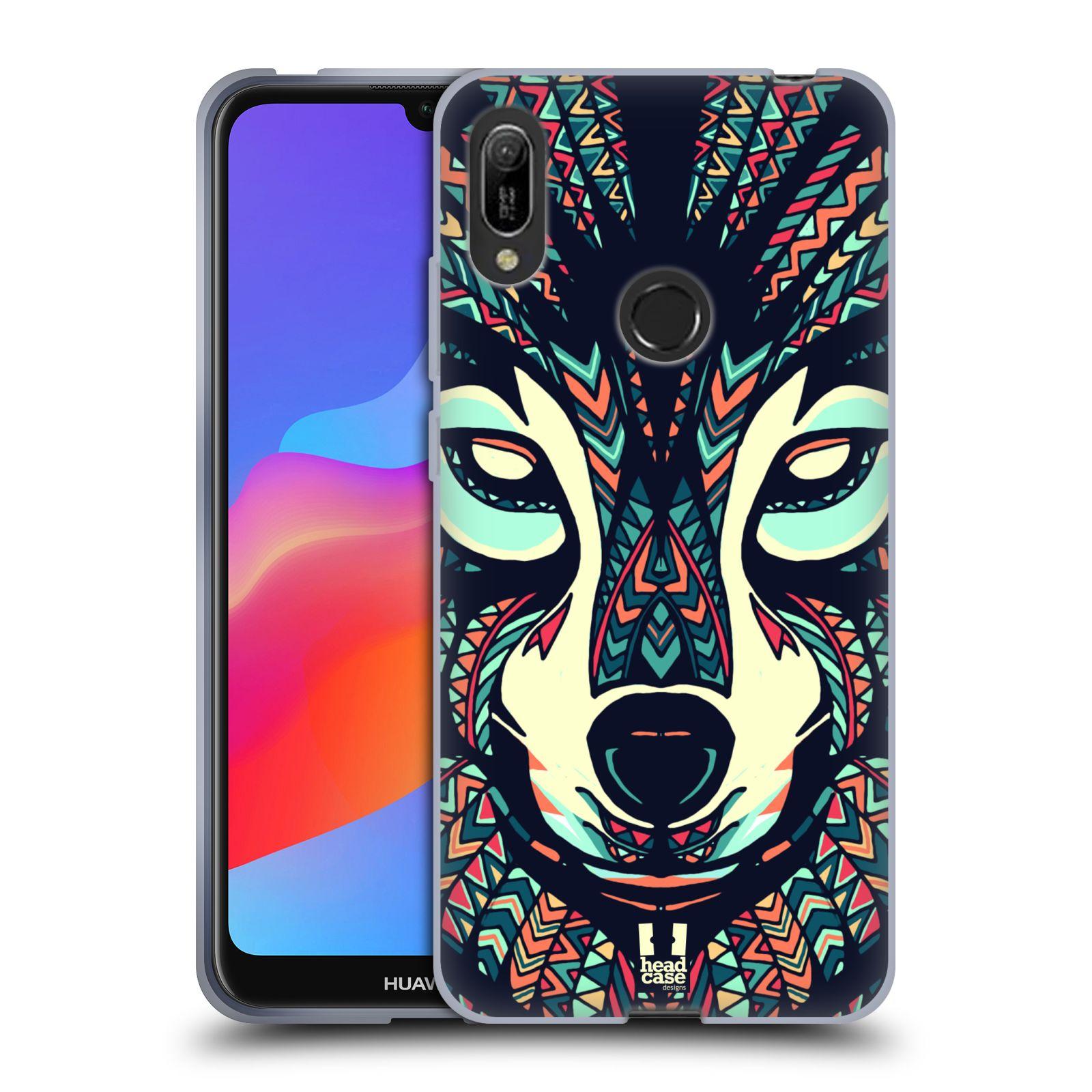 Silikonové pouzdro na mobil Huawei Y6 (2019) - Head Case - AZTEC VLK
