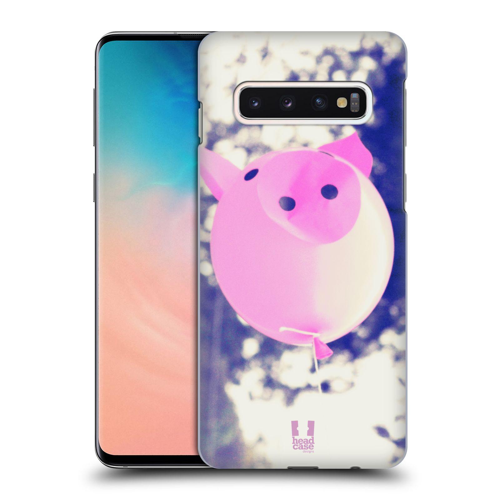 Plastové pouzdro na mobil Samsung Galaxy S10 - Head Case - BALON PAŠÍK