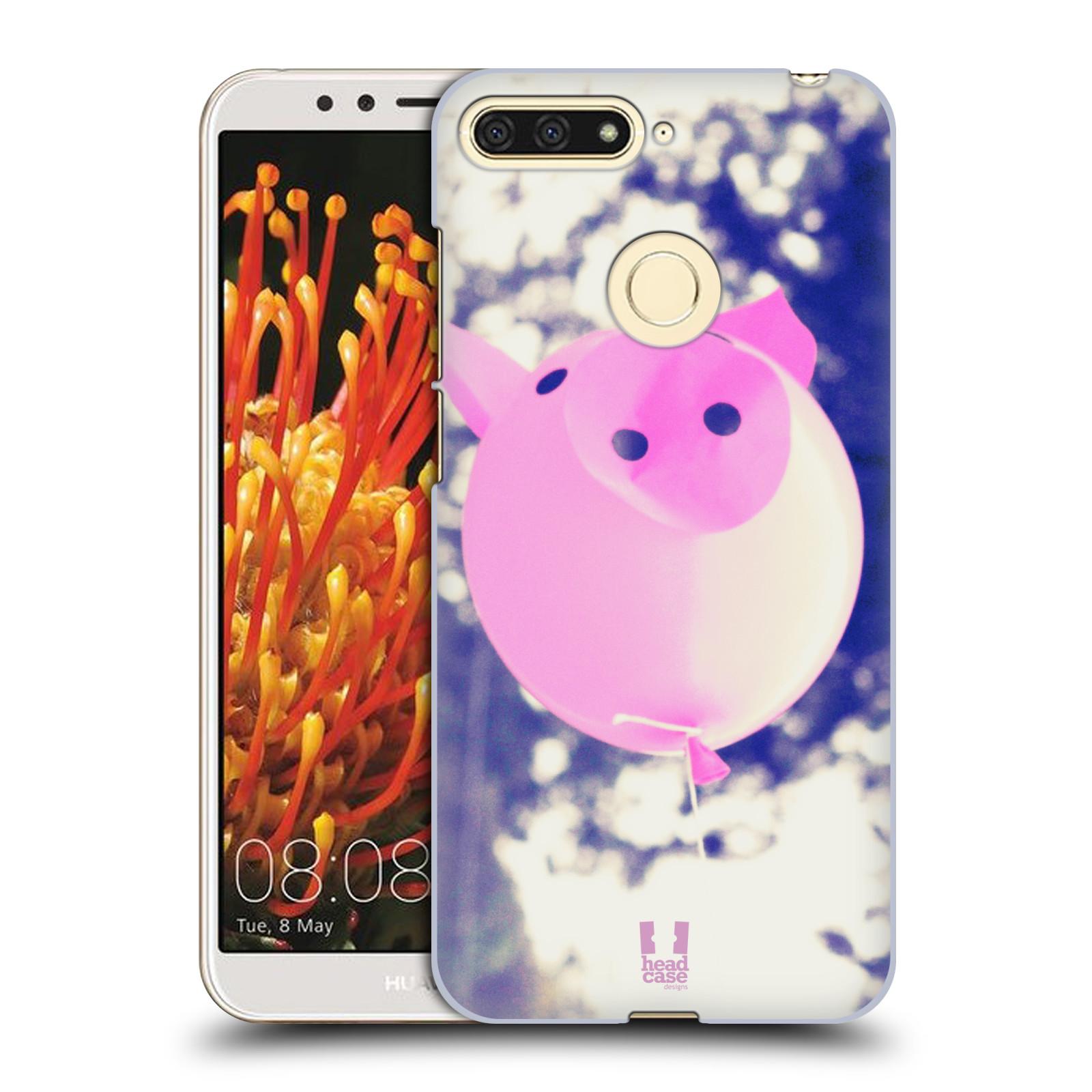 Plastové pouzdro na mobil Huawei Y6 Prime 2018 - Head Case - BALON PAŠÍK