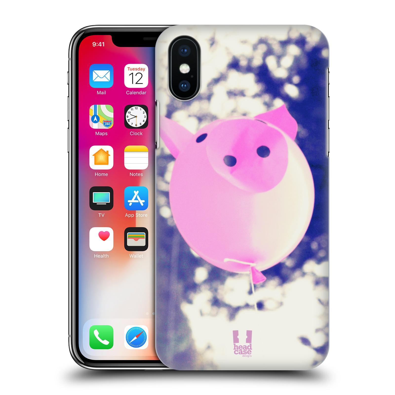 Plastové pouzdro na mobil Apple iPhone X - Head Case - BALON PAŠÍK