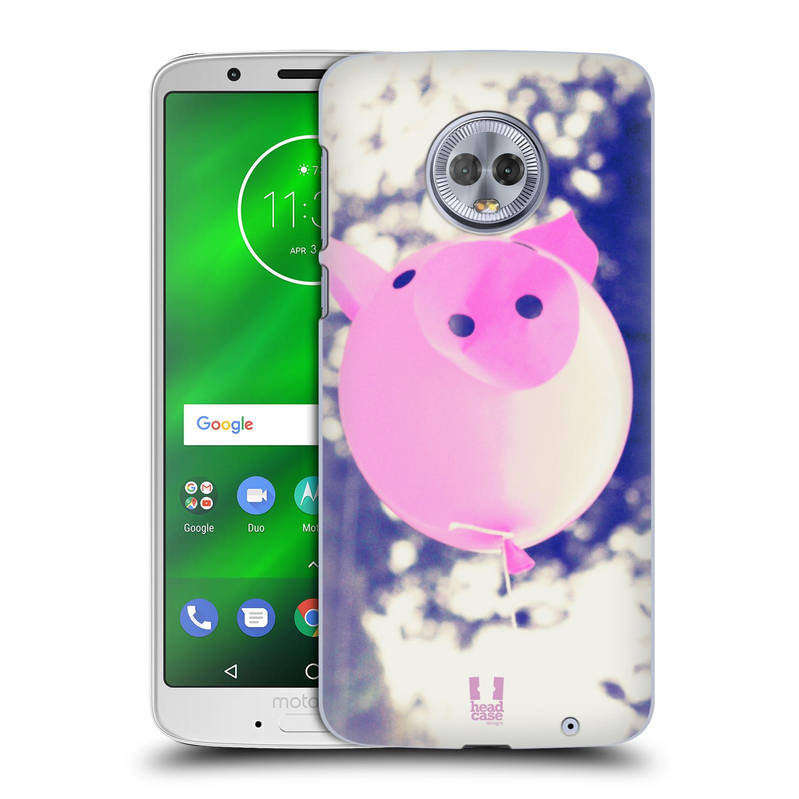 Plastové pouzdro na mobil Motorola Moto G6 Plus - Head Case - BALON PAŠÍK