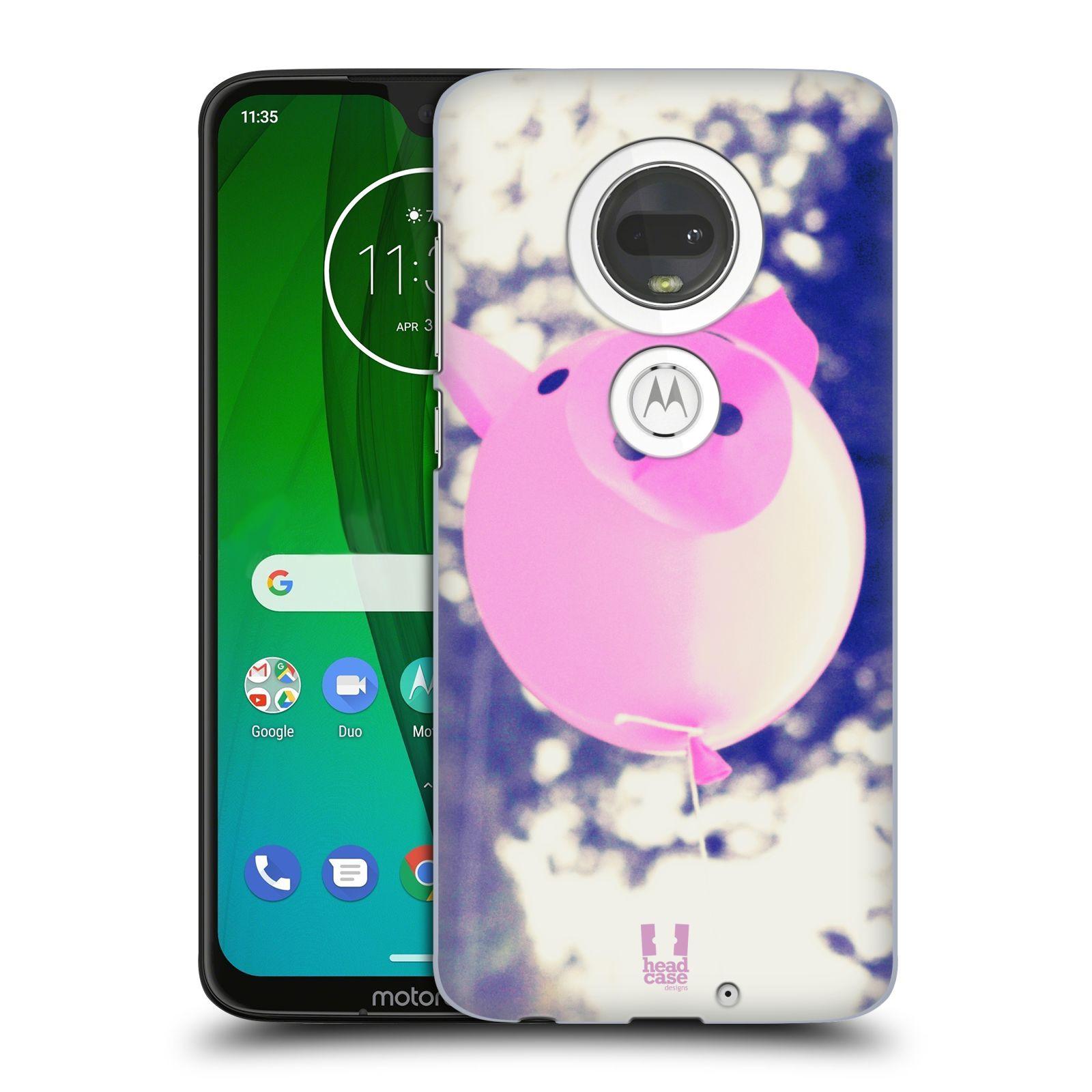 Plastové pouzdro na mobil Motorola Moto G7 - Head Case - BALON PAŠÍK