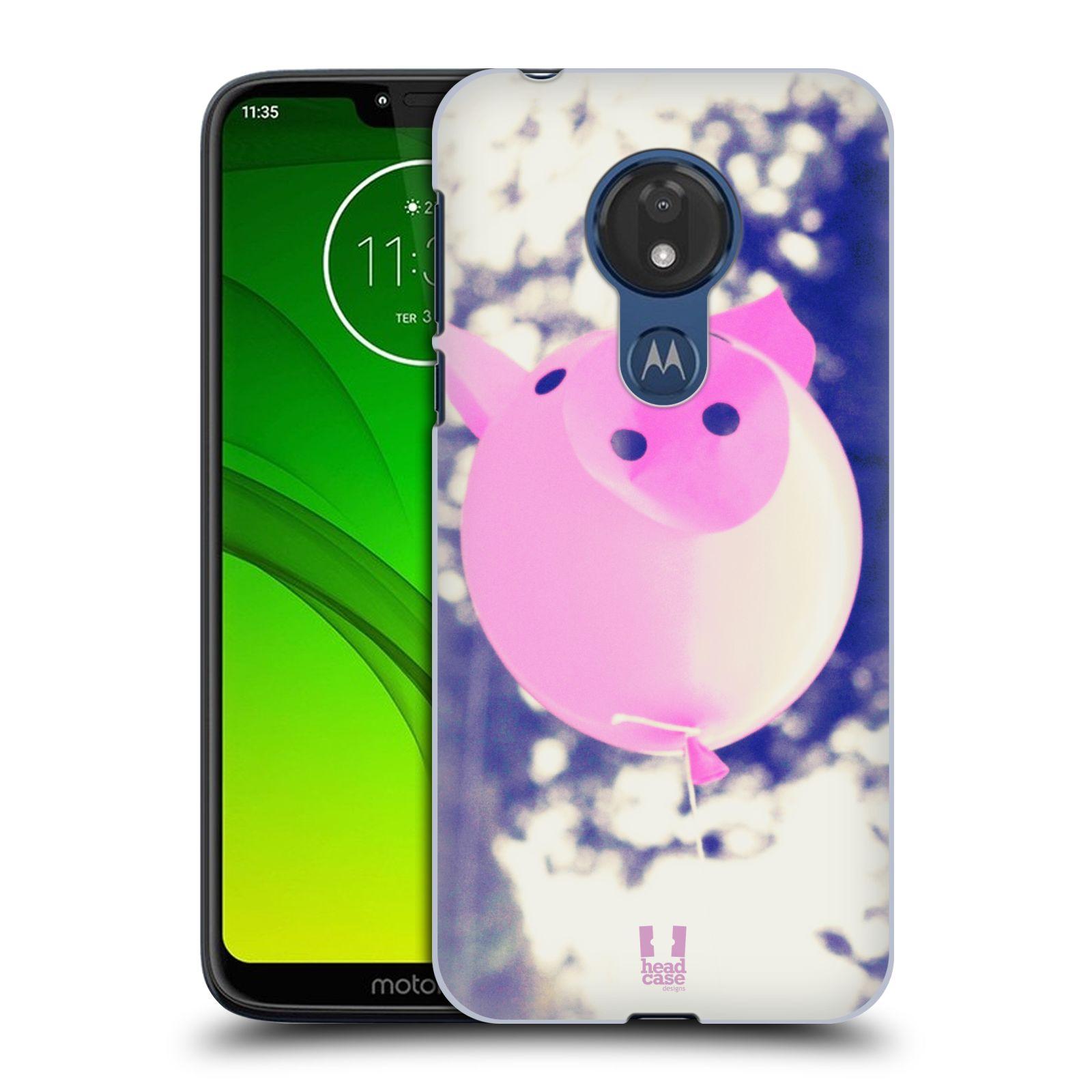 Plastové pouzdro na mobil Motorola Moto G7 Power - Head Case - BALON PAŠÍK