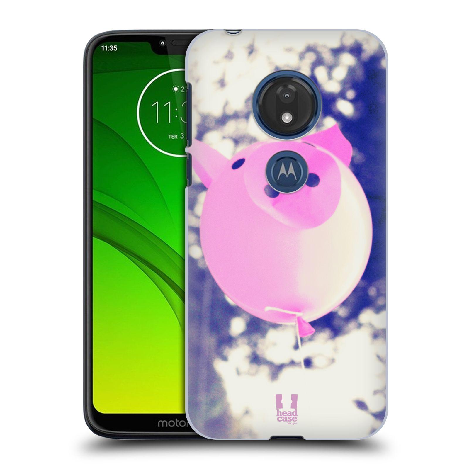 Plastové pouzdro na mobil Motorola Moto G7 Play - Head Case - BALON PAŠÍK