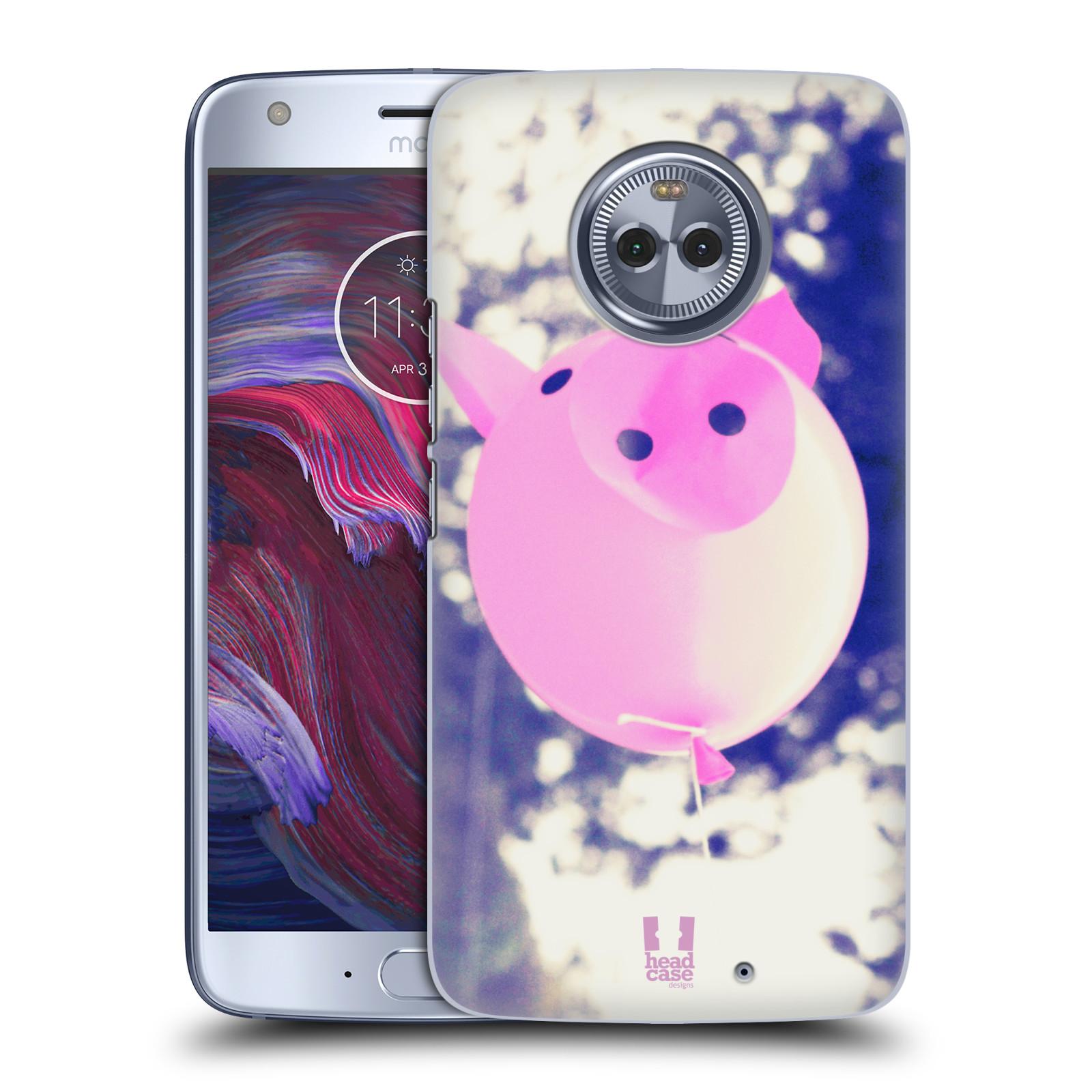 Plastové pouzdro na mobil Lenovo Moto X4 - Head Case - BALON PAŠÍK
