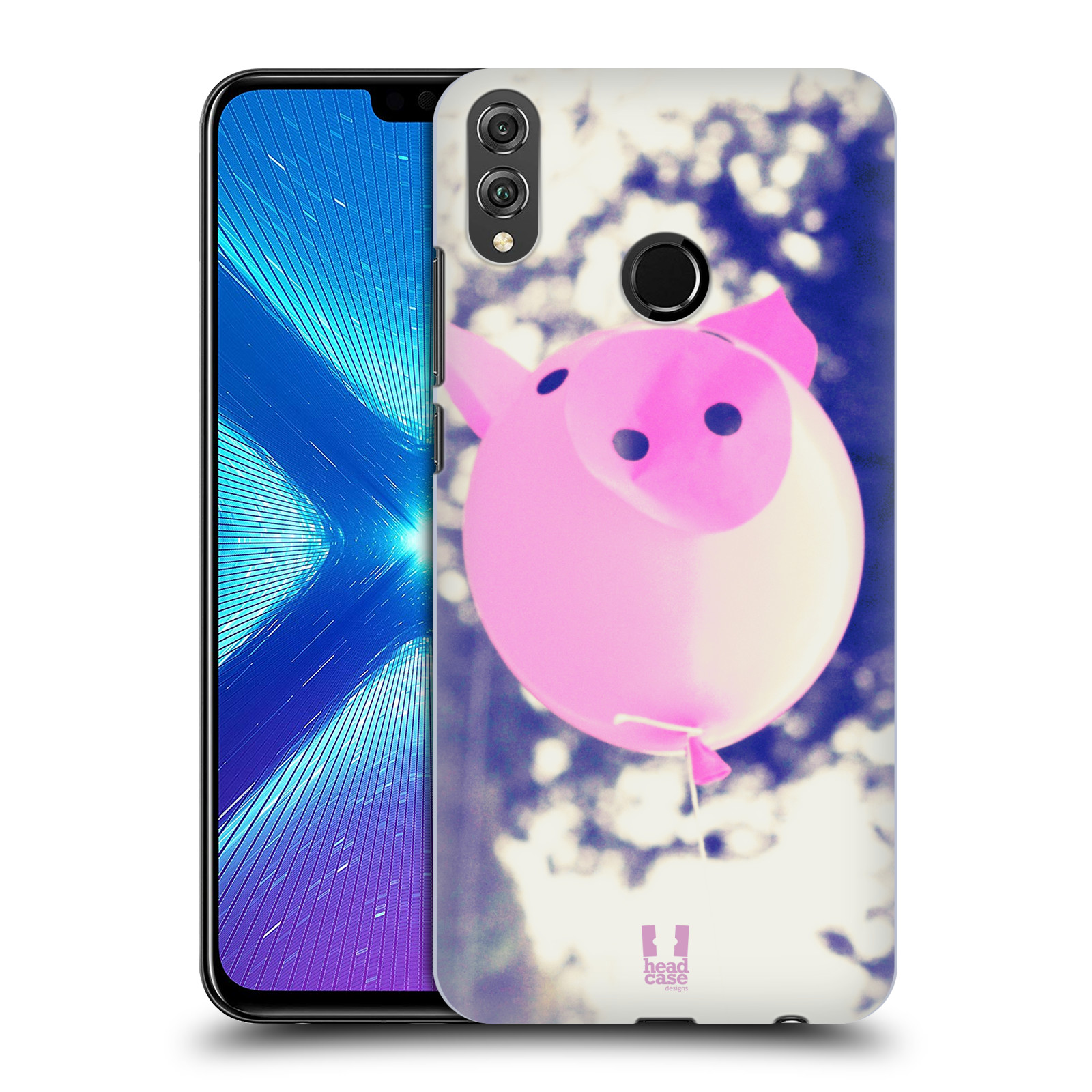 Plastové pouzdro na mobil Honor 8X - Head Case - BALON PAŠÍK