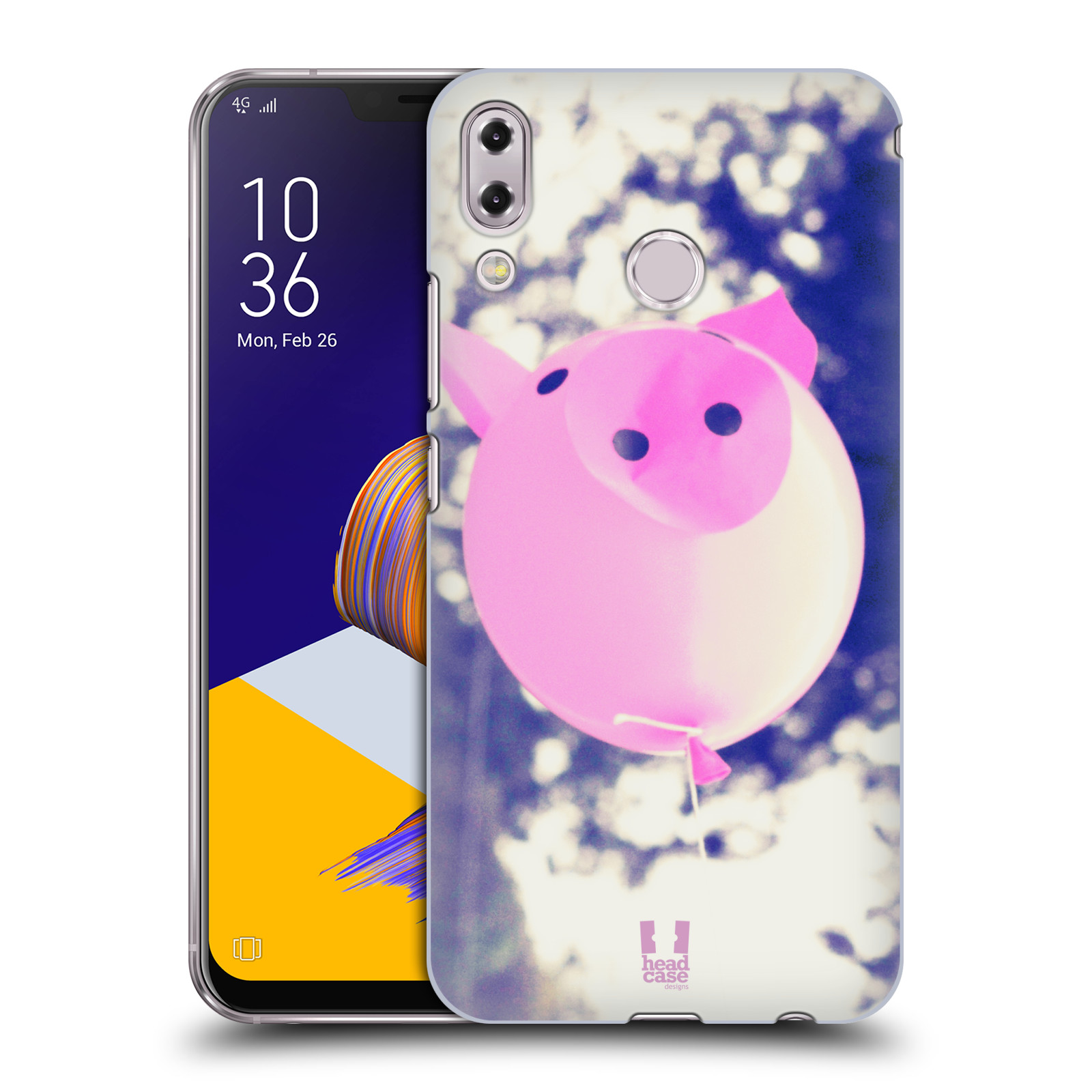 Plastové pouzdro na mobil Asus Zenfone 5z ZS620KL - Head Case - BALON PAŠÍK