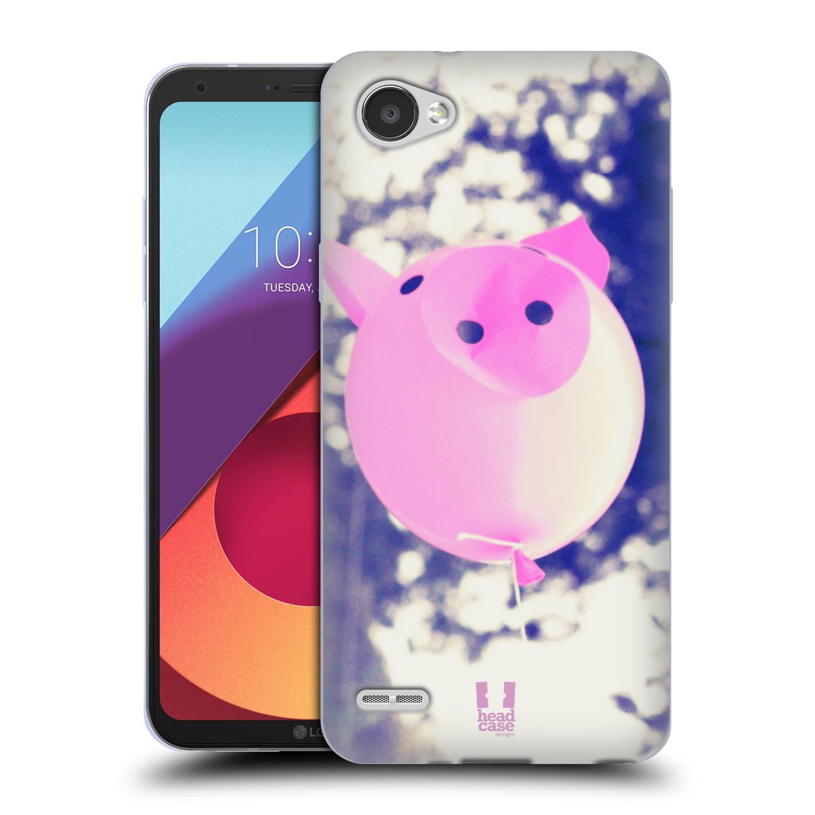 Silikonové pouzdro na mobil LG Q6 - Head Case - BALON PAŠÍK
