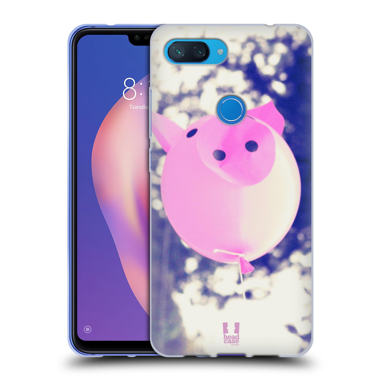 Silikonové pouzdro na mobil Xiaomi Mi 8 Lite - Head Case - BALON PAŠÍK