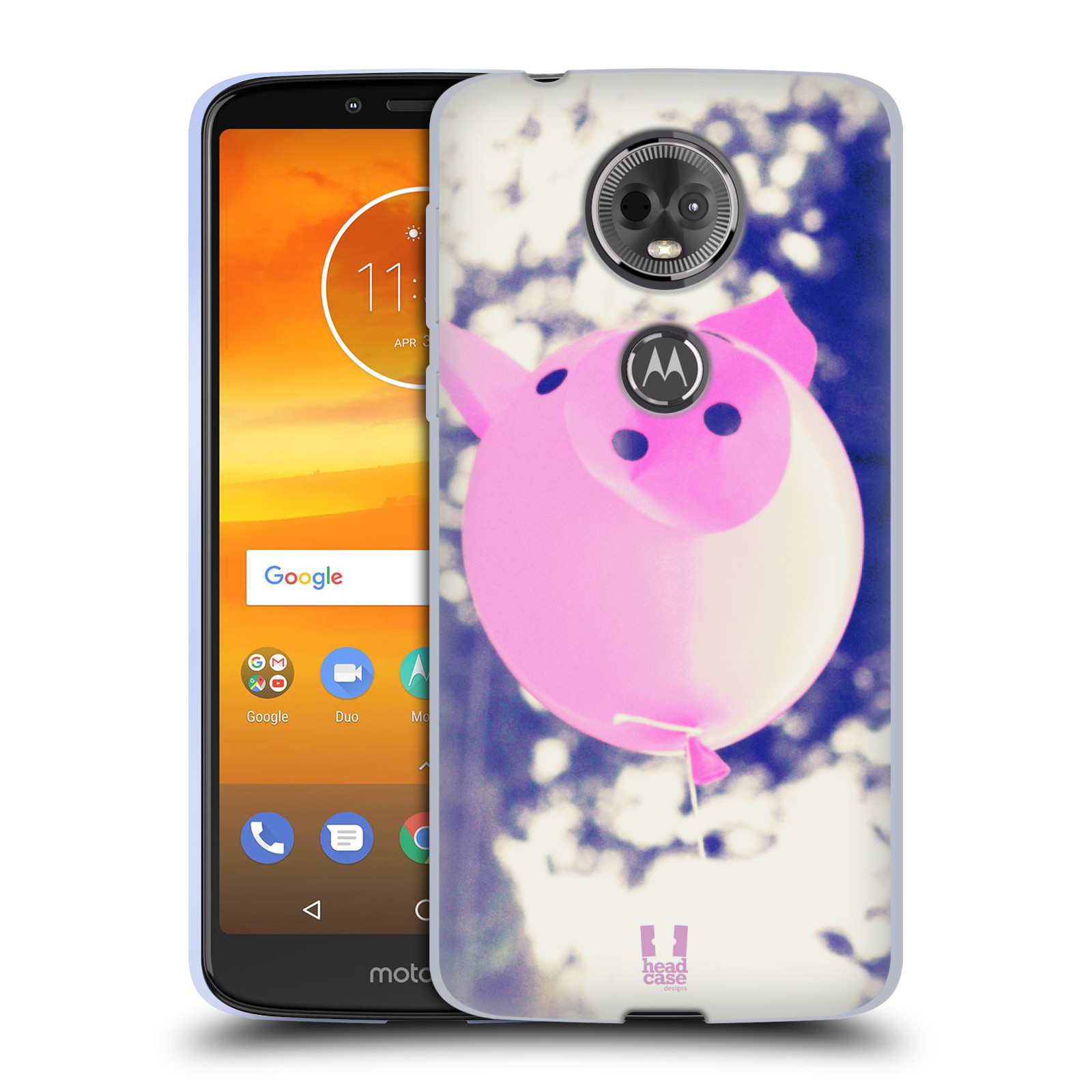Silikonové pouzdro na mobil Motorola Moto E5 Plus - Head Case - BALON PAŠÍK