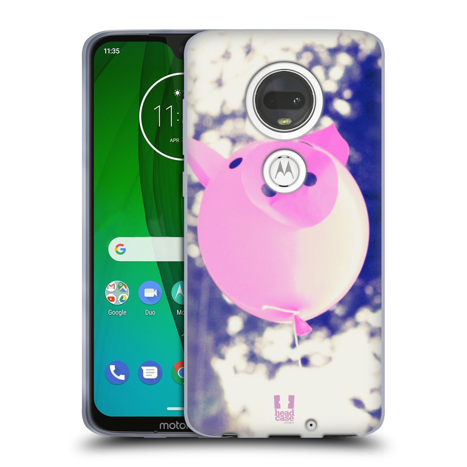 Silikonové pouzdro na mobil Motorola Moto G7 - Head Case - BALON PAŠÍK