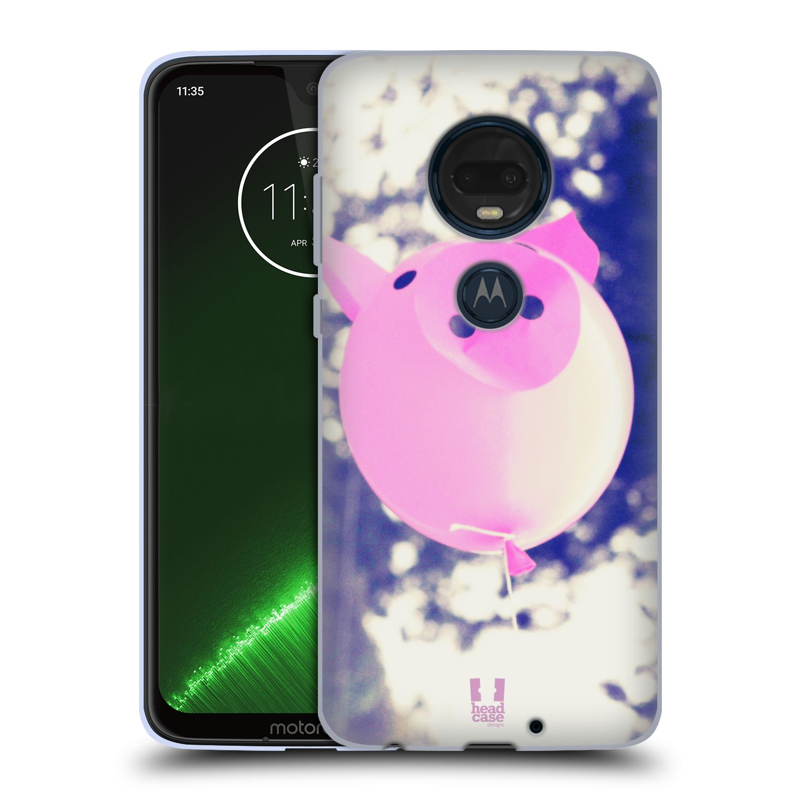 Silikonové pouzdro na mobil Motorola Moto G7 Plus - Head Case - BALON PAŠÍK