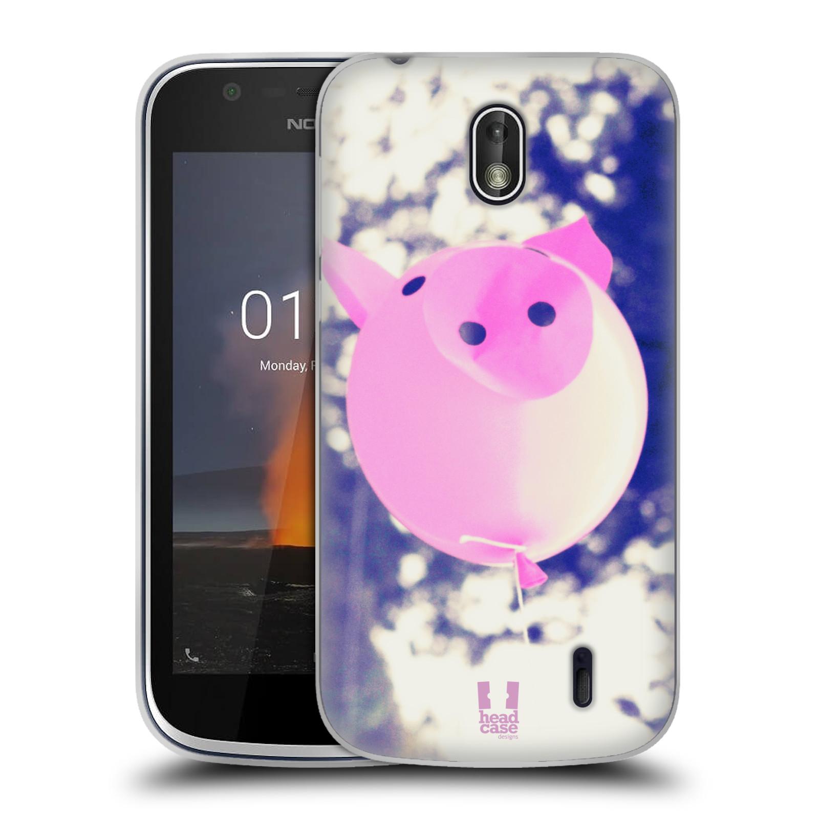 Silikonové pouzdro na mobil Nokia 1 - Head Case - BALON PAŠÍK