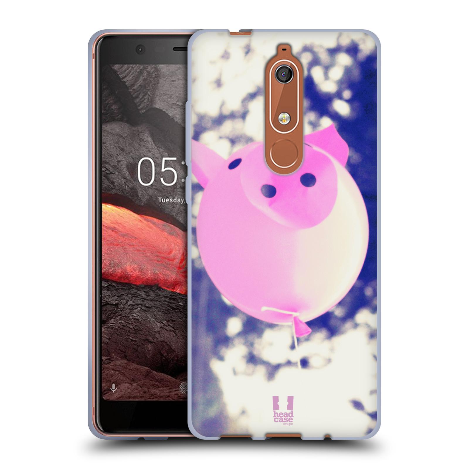 Silikonové pouzdro na mobil Nokia 5.1 - Head Case - BALON PAŠÍK