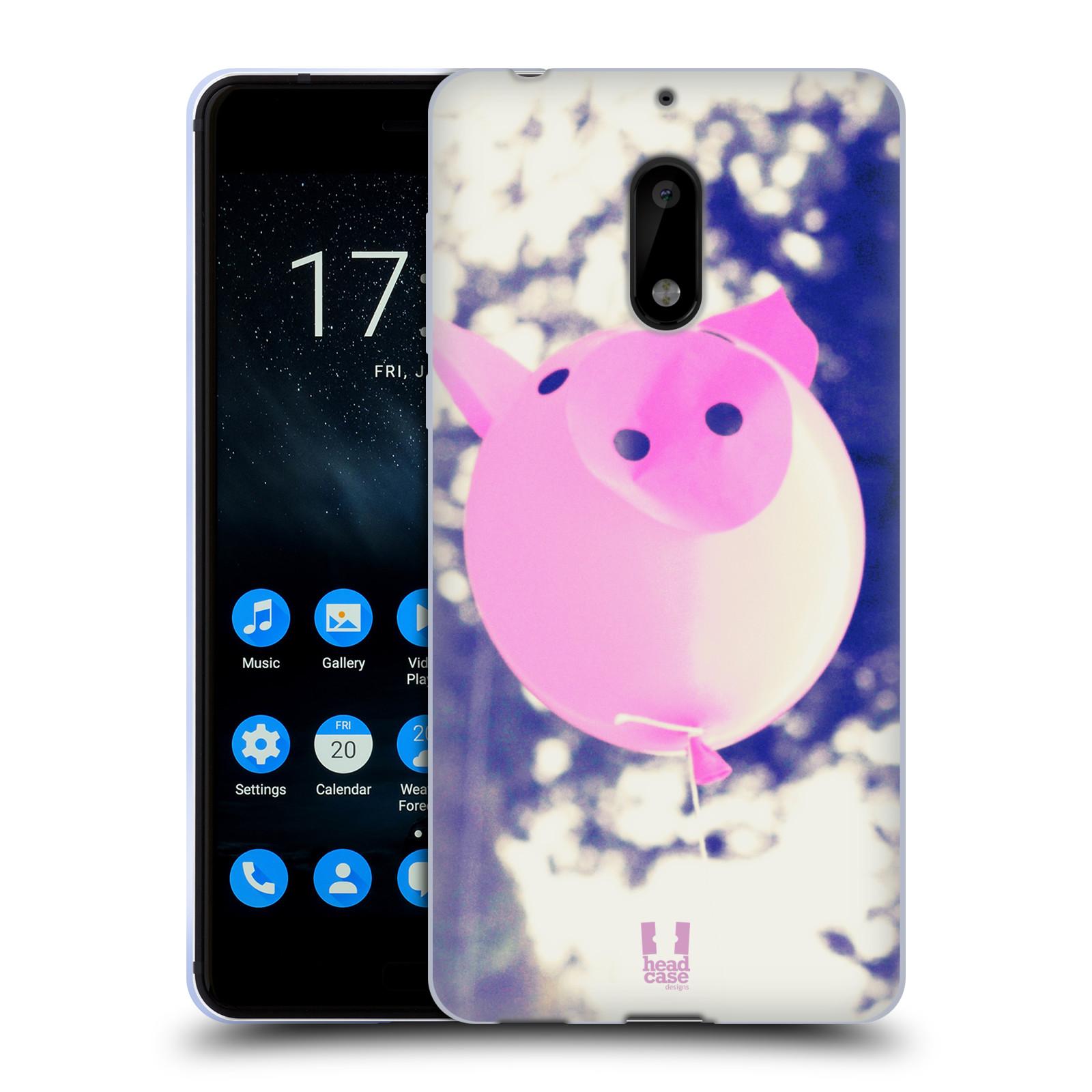 Silikonové pouzdro na mobil Nokia 6 - Head Case - BALON PAŠÍK