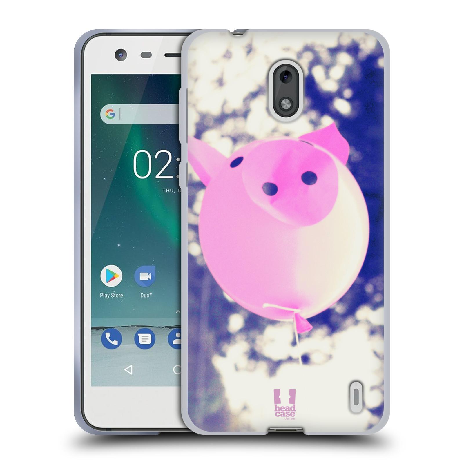 Silikonové pouzdro na mobil Nokia 2 - Head Case - BALON PAŠÍK