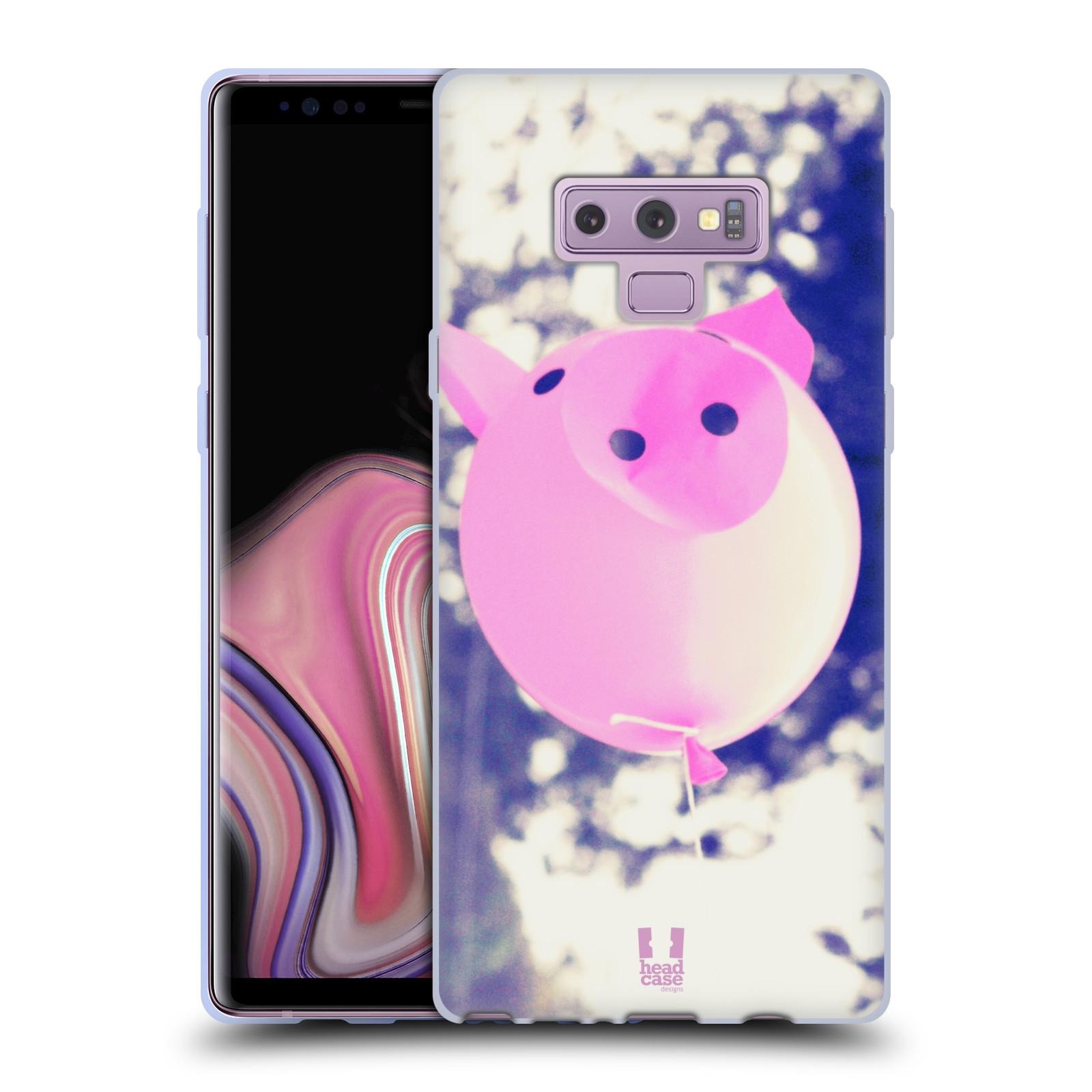 Silikonové pouzdro na mobil Samsung Galaxy Note 9 - Head Case - BALON PAŠÍK