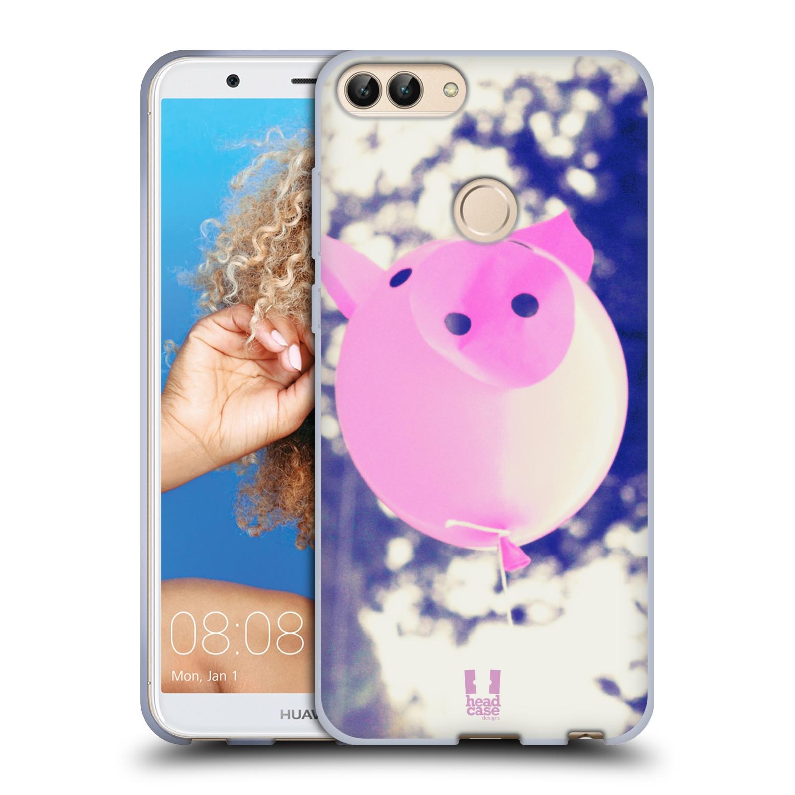 Silikonové pouzdro na mobil Huawei P Smart - Head Case - BALON PAŠÍK
