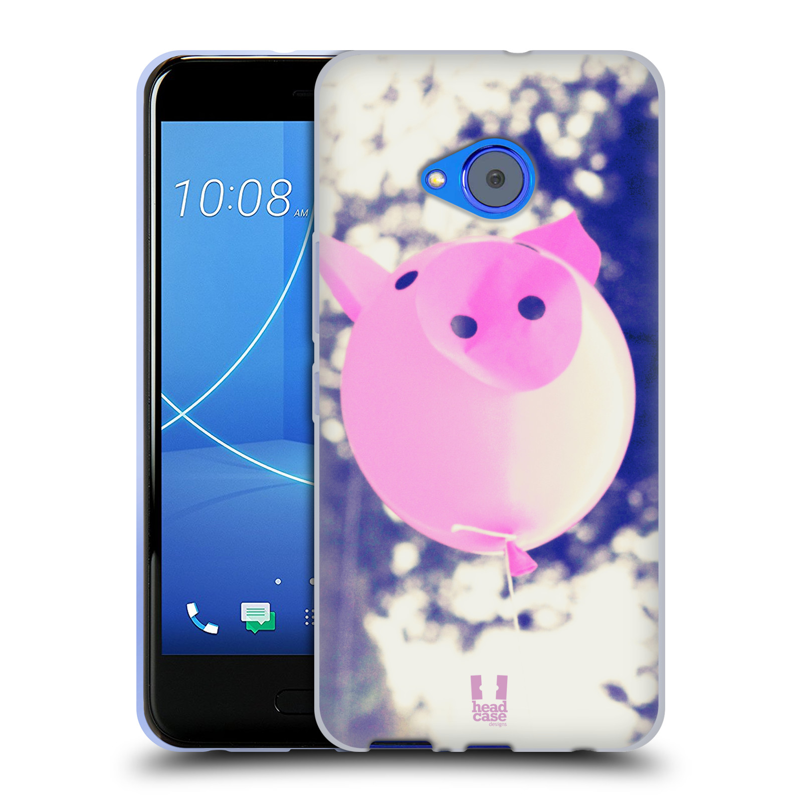 Silikonové pouzdro na mobil HTC U11 Life - Head Case - BALON PAŠÍK