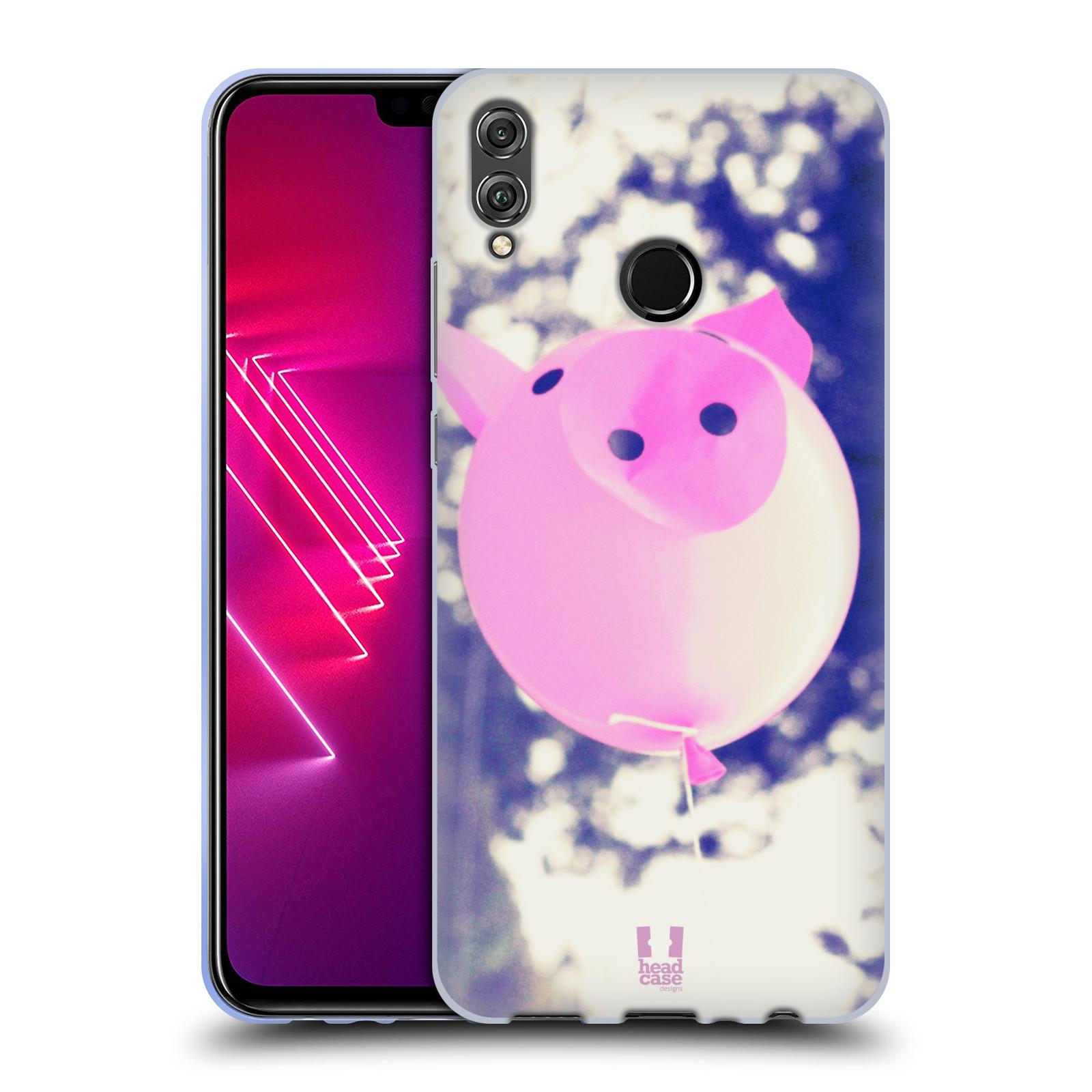 Silikonové pouzdro na mobil Honor 8X - Head Case - BALON PAŠÍK