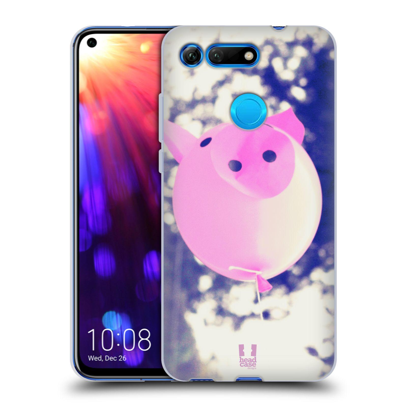 Silikonové pouzdro na mobil Honor View 20 - Head Case - BALON PAŠÍK
