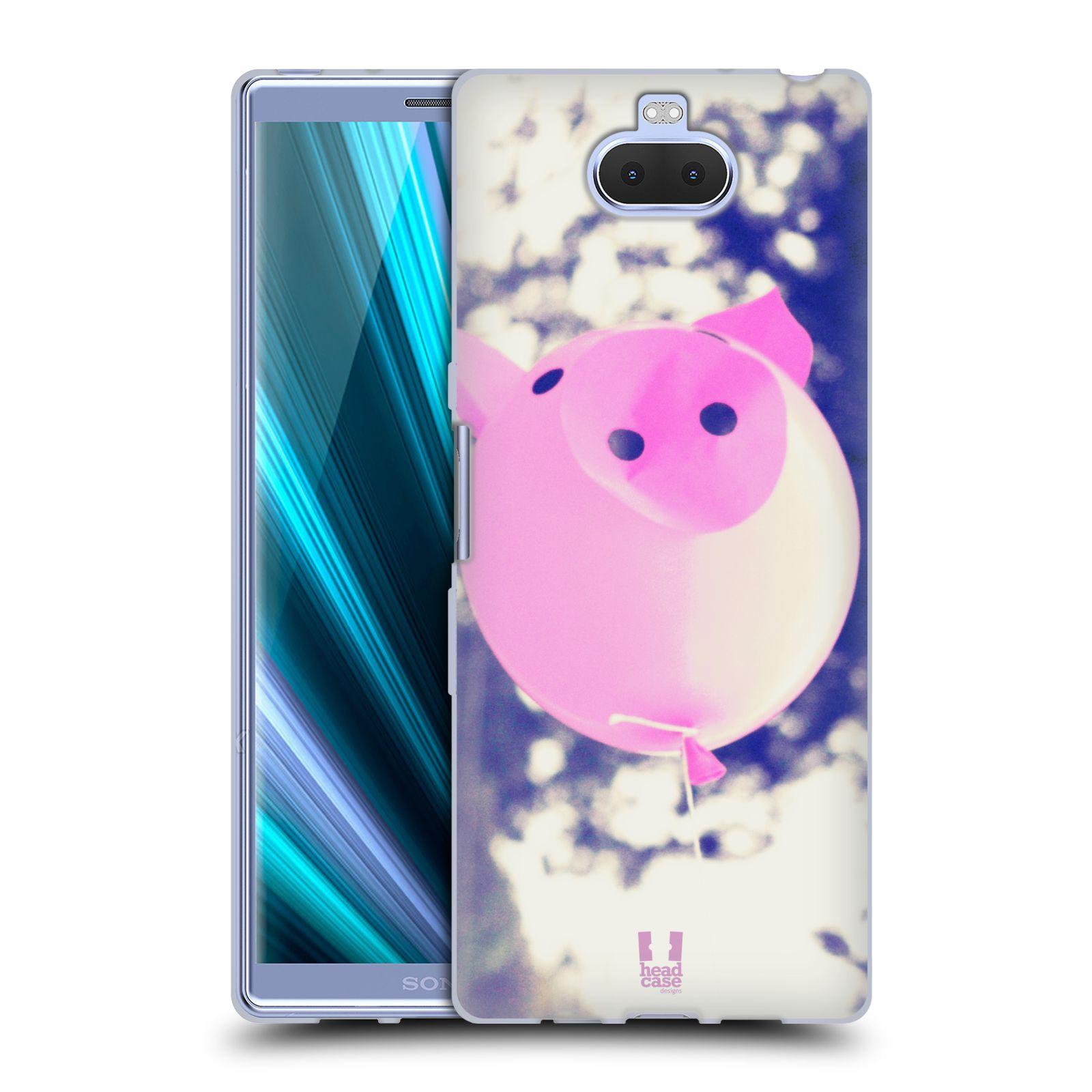 Silikonové pouzdro na mobil Sony Xperia 10 Plus - Head Case - BALON PAŠÍK