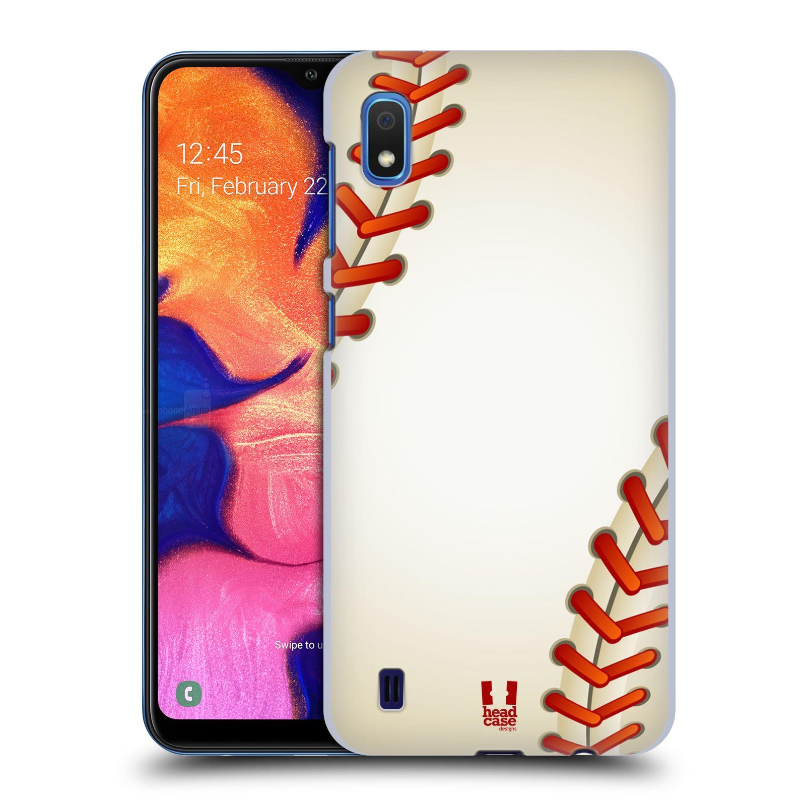 Plastové pouzdro na mobil Samsung Galaxy A10 - Head Case - Baseballový míček