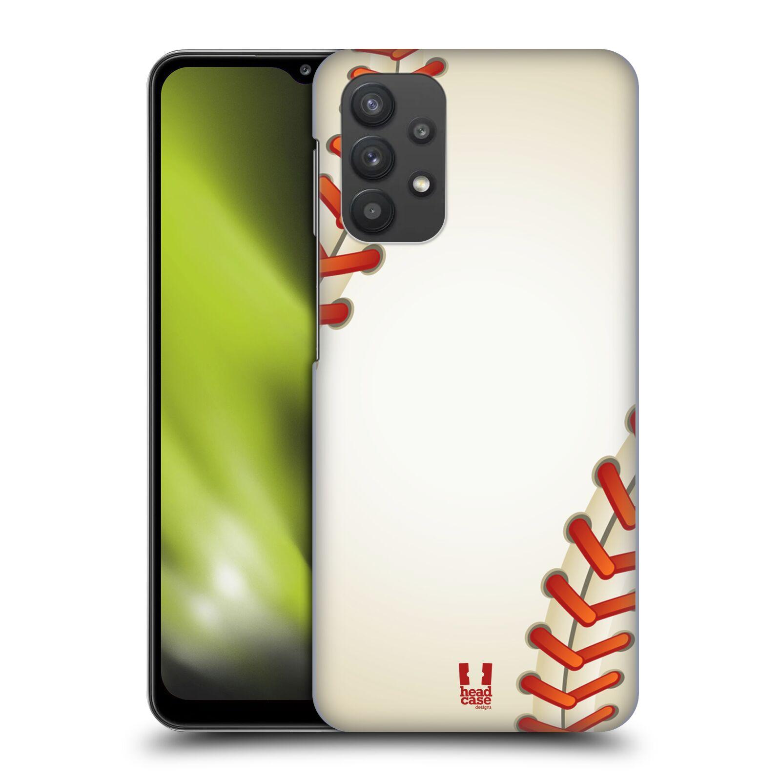 Plastové pouzdro na mobil Samsung Galaxy A32 5G - Head Case - Baseballový míček