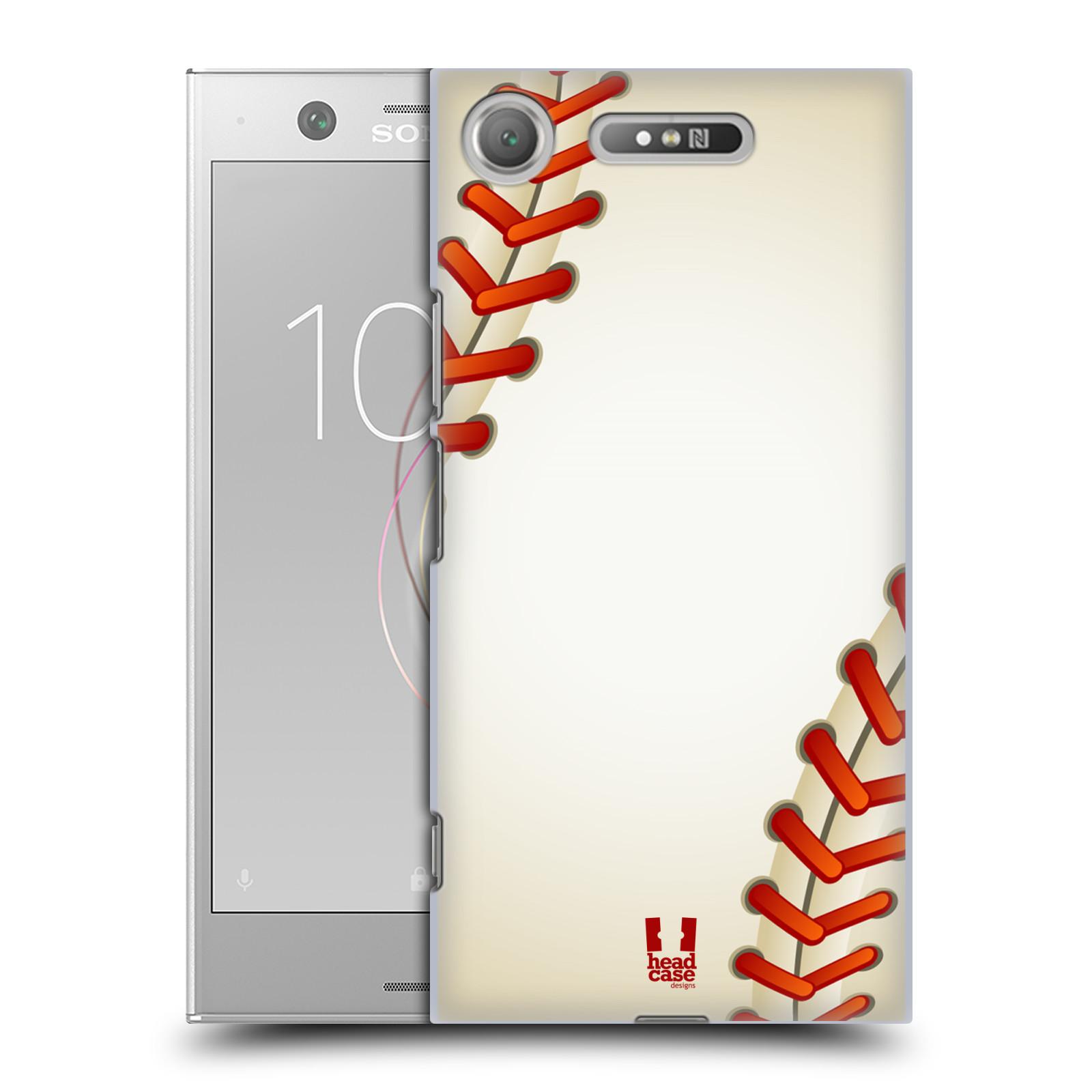 Plastové pouzdro na mobil Sony Xperia XZ1 - Head Case - Baseballový míček