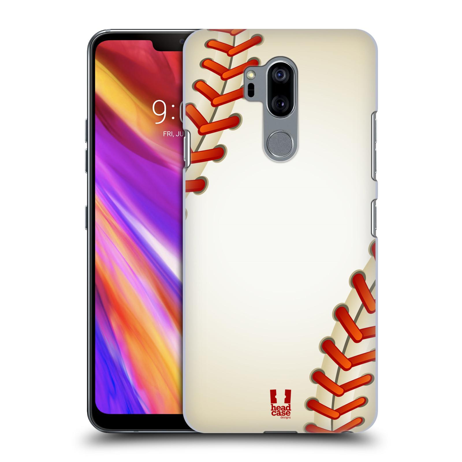 Plastové pouzdro na mobil LG G7 ThinQ - Head Case - Baseballový míček