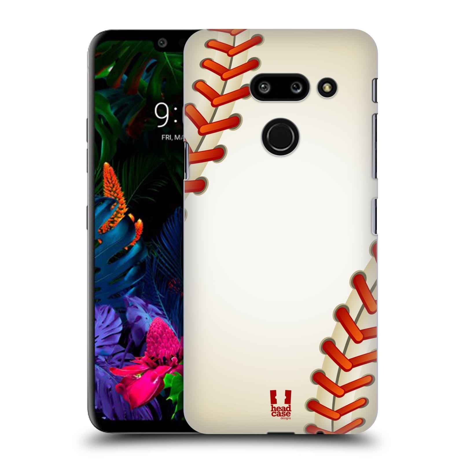 Plastové pouzdro na mobil LG G8 ThinQ - Head Case - Baseballový míček