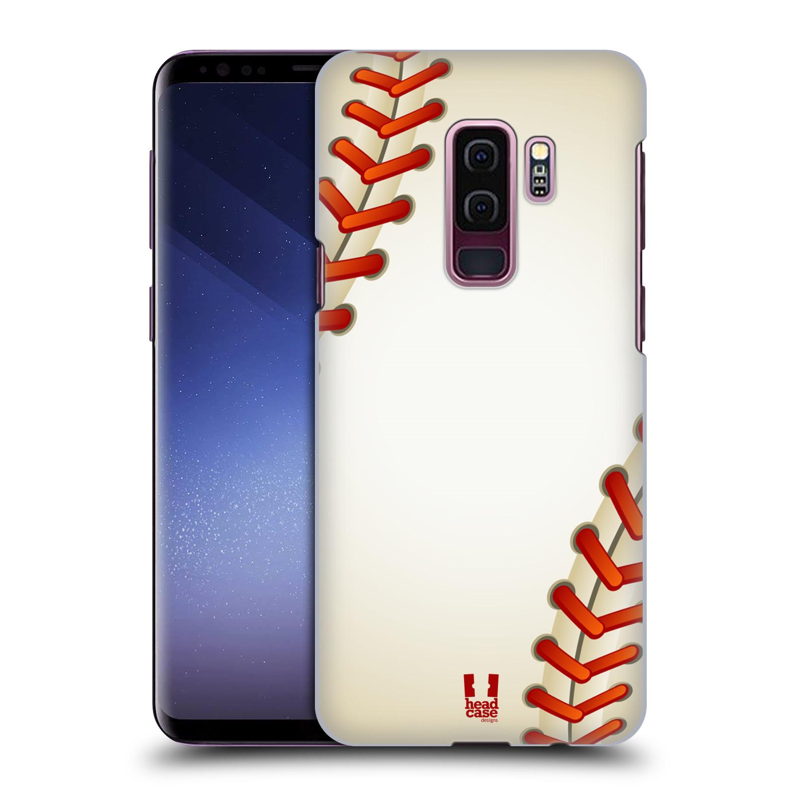 Plastové pouzdro na mobil Samsung Galaxy S9 Plus - Head Case - Baseballový míček