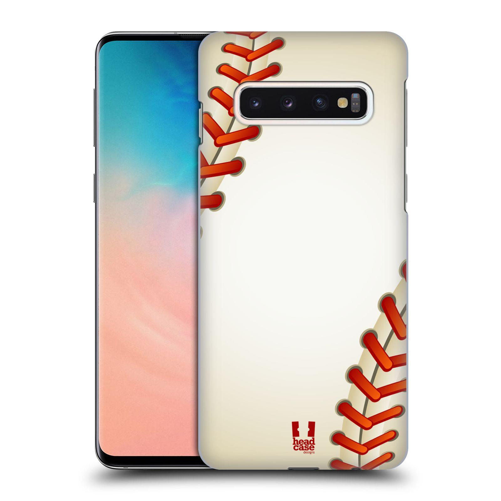 Plastové pouzdro na mobil Samsung Galaxy S10 - Head Case - Baseballový míček