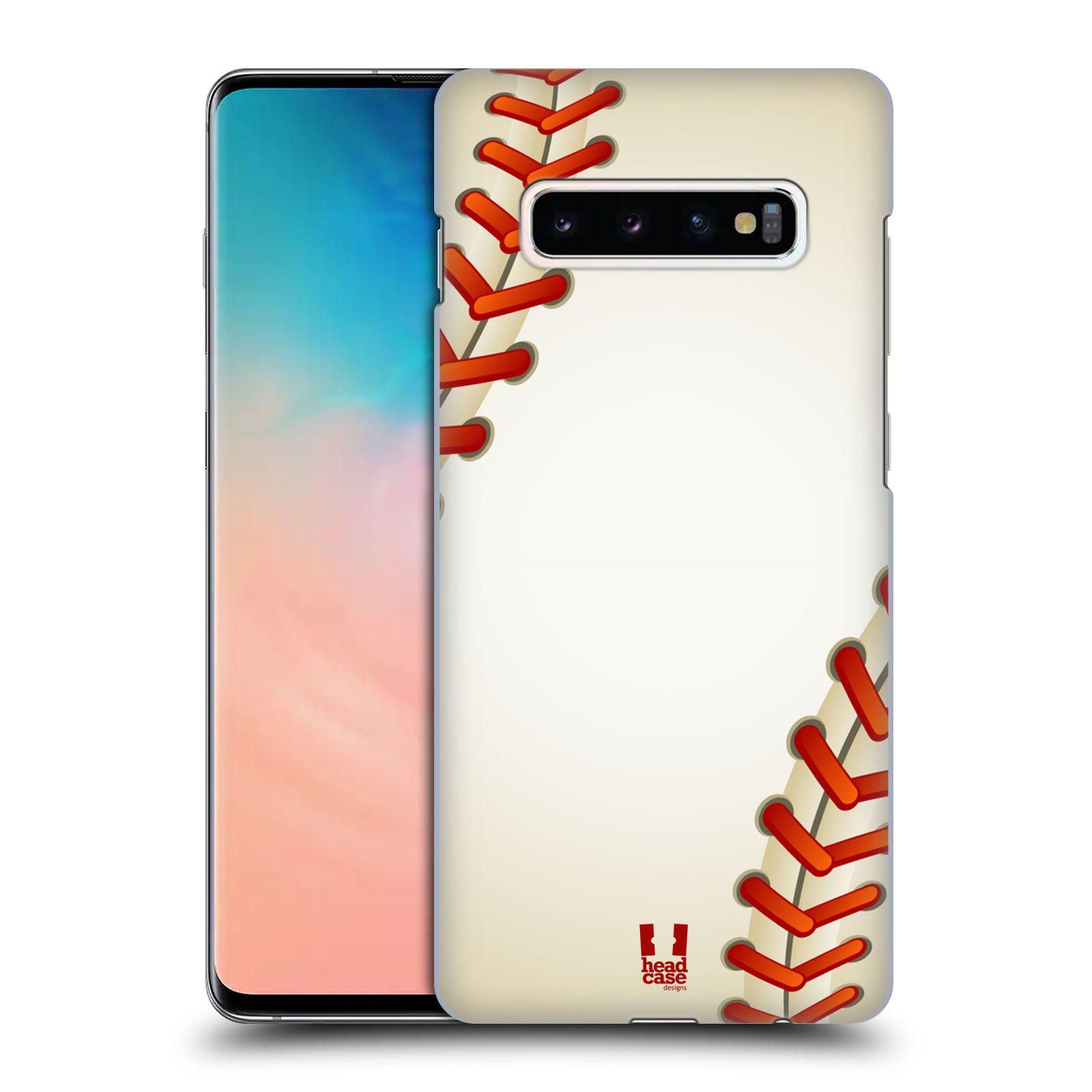 Plastové pouzdro na mobil Samsung Galaxy S10 Plus - Head Case - Baseballový míček