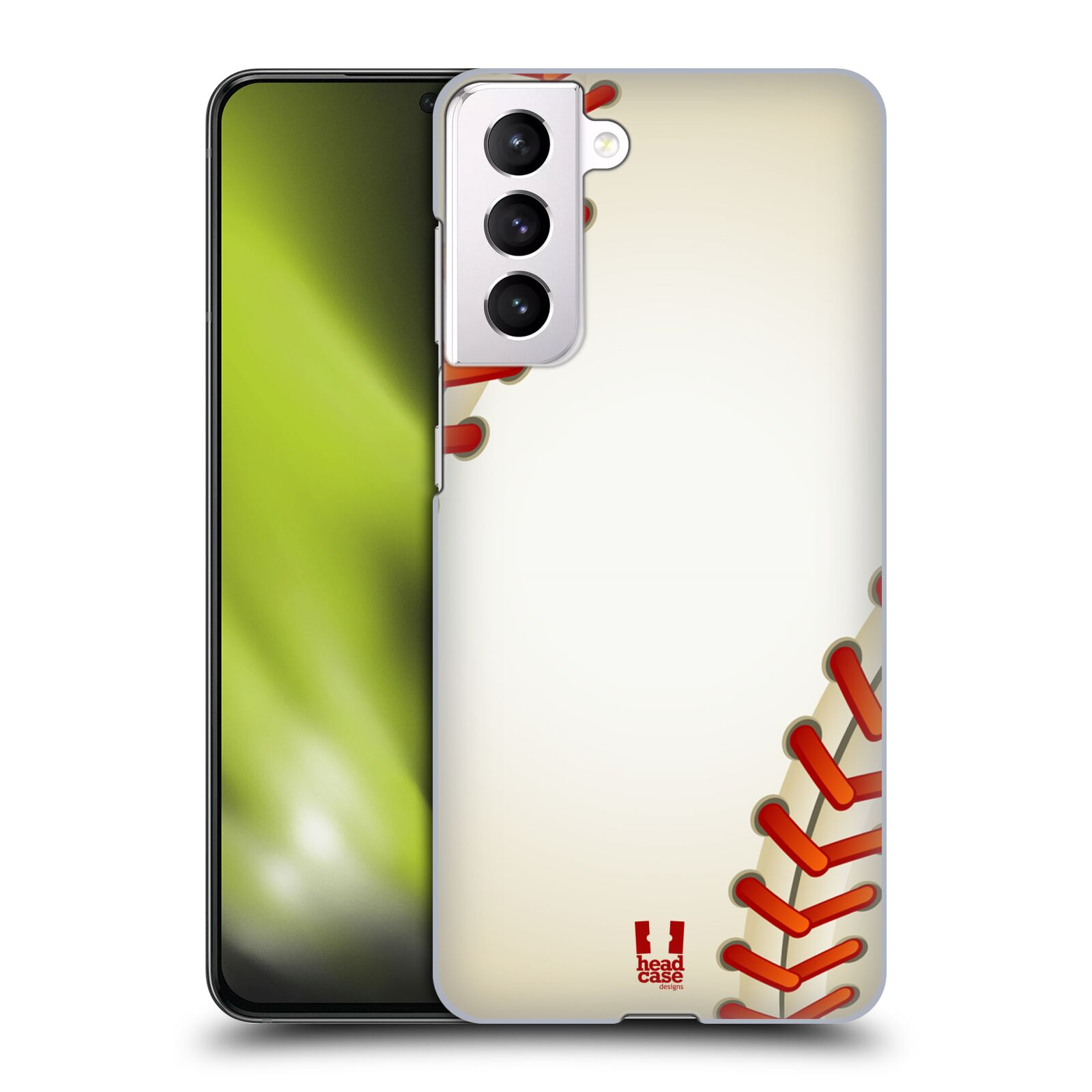 Plastové pouzdro na mobil Samsung Galaxy S21 5G - Head Case - Baseballový míček