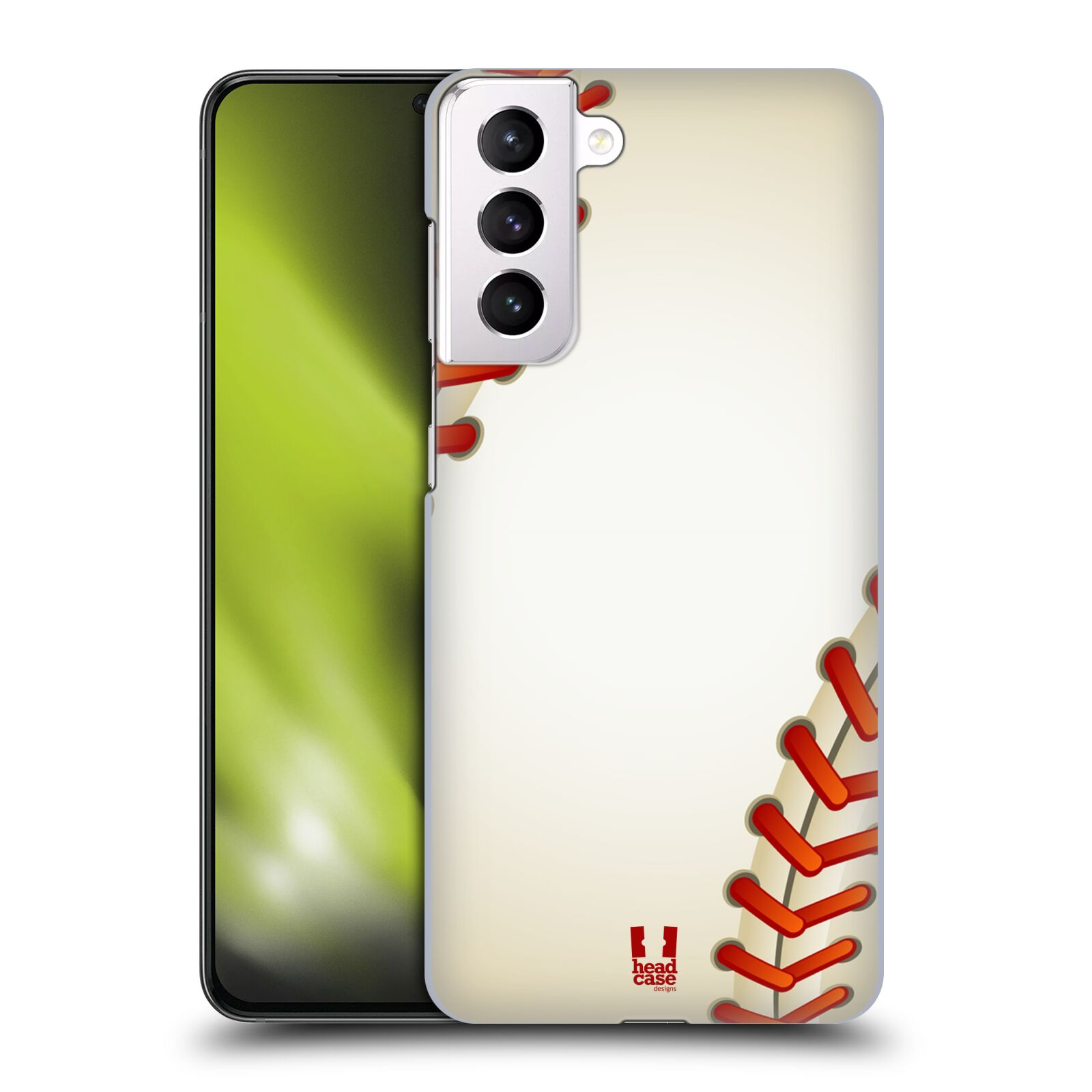 Plastové pouzdro na mobil Samsung Galaxy S21 Plus 5G - Head Case - Baseballový míček