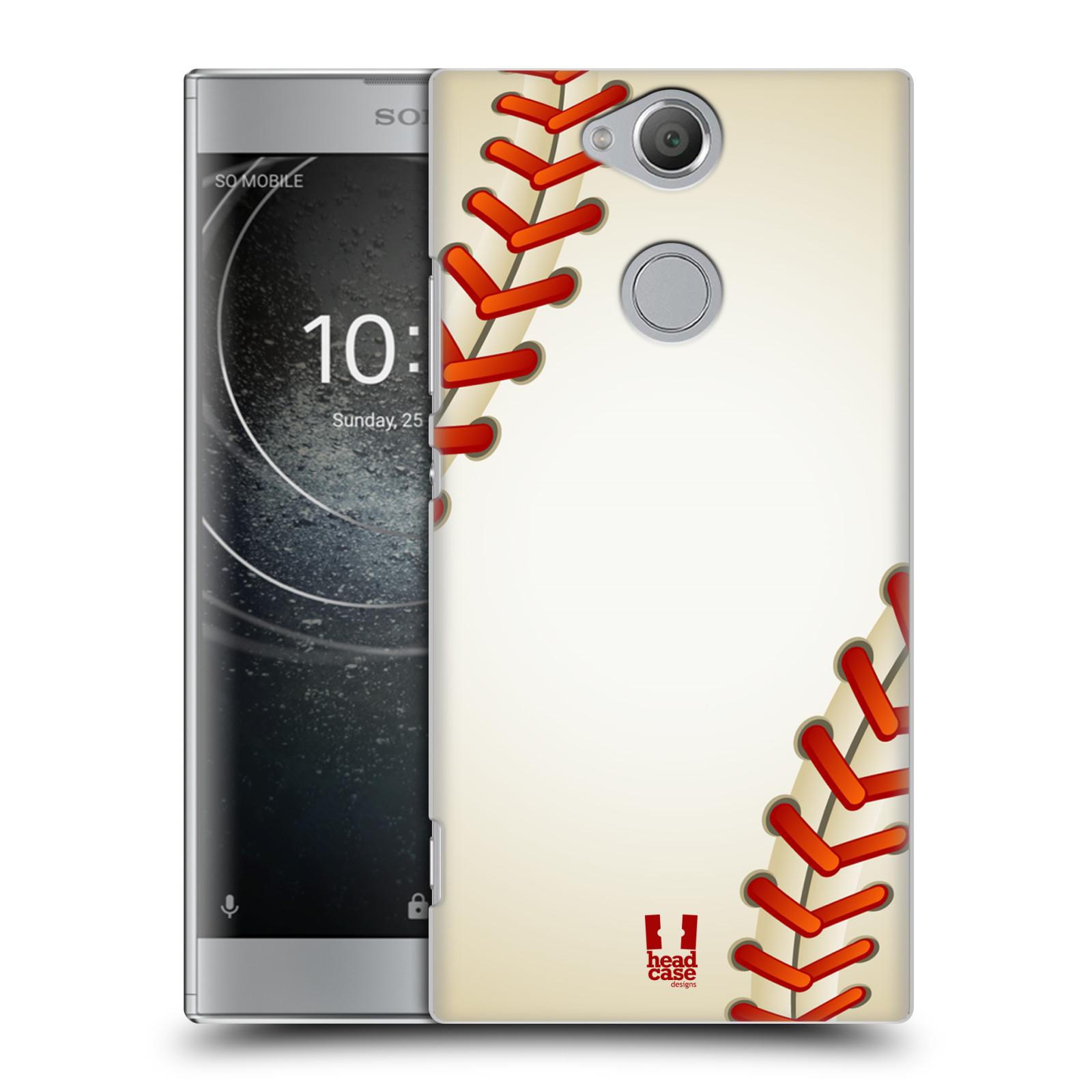 Plastové pouzdro na mobil Sony Xperia XA2 - Head Case - Baseballový míček