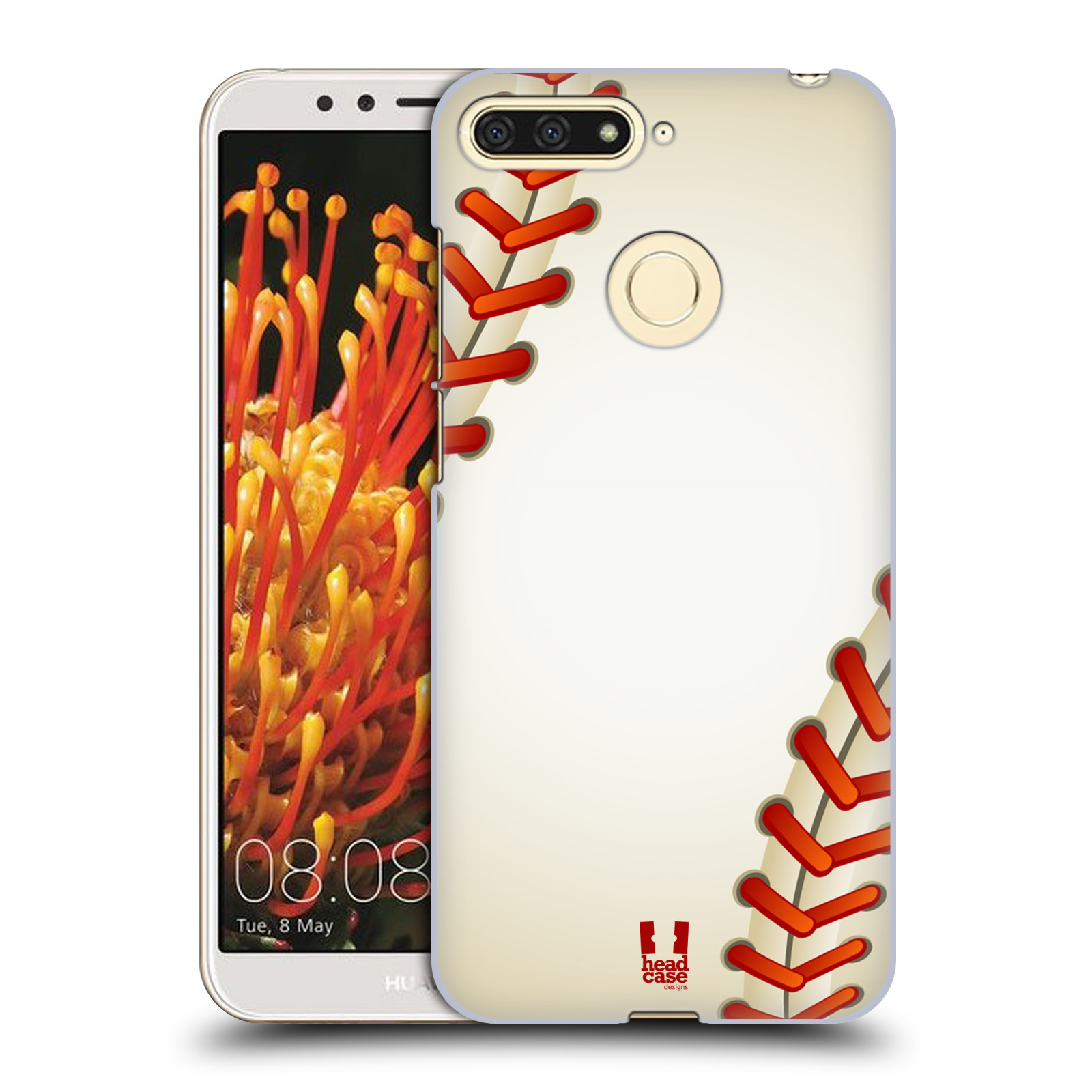 Plastové pouzdro na mobil Huawei Y6 Prime 2018 - Head Case - Baseballový míček