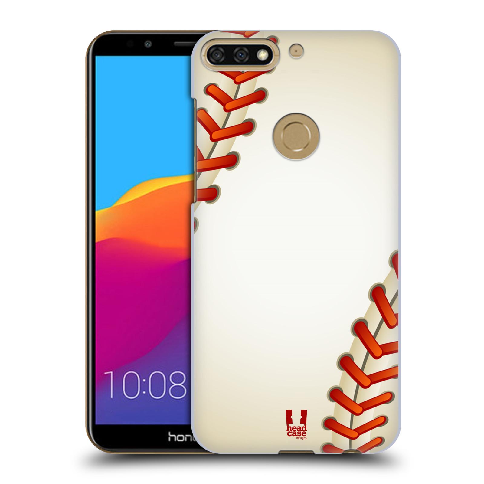 Plastové pouzdro na mobil Huawei Y7 Prime 2018 - Head Case - Baseballový míček