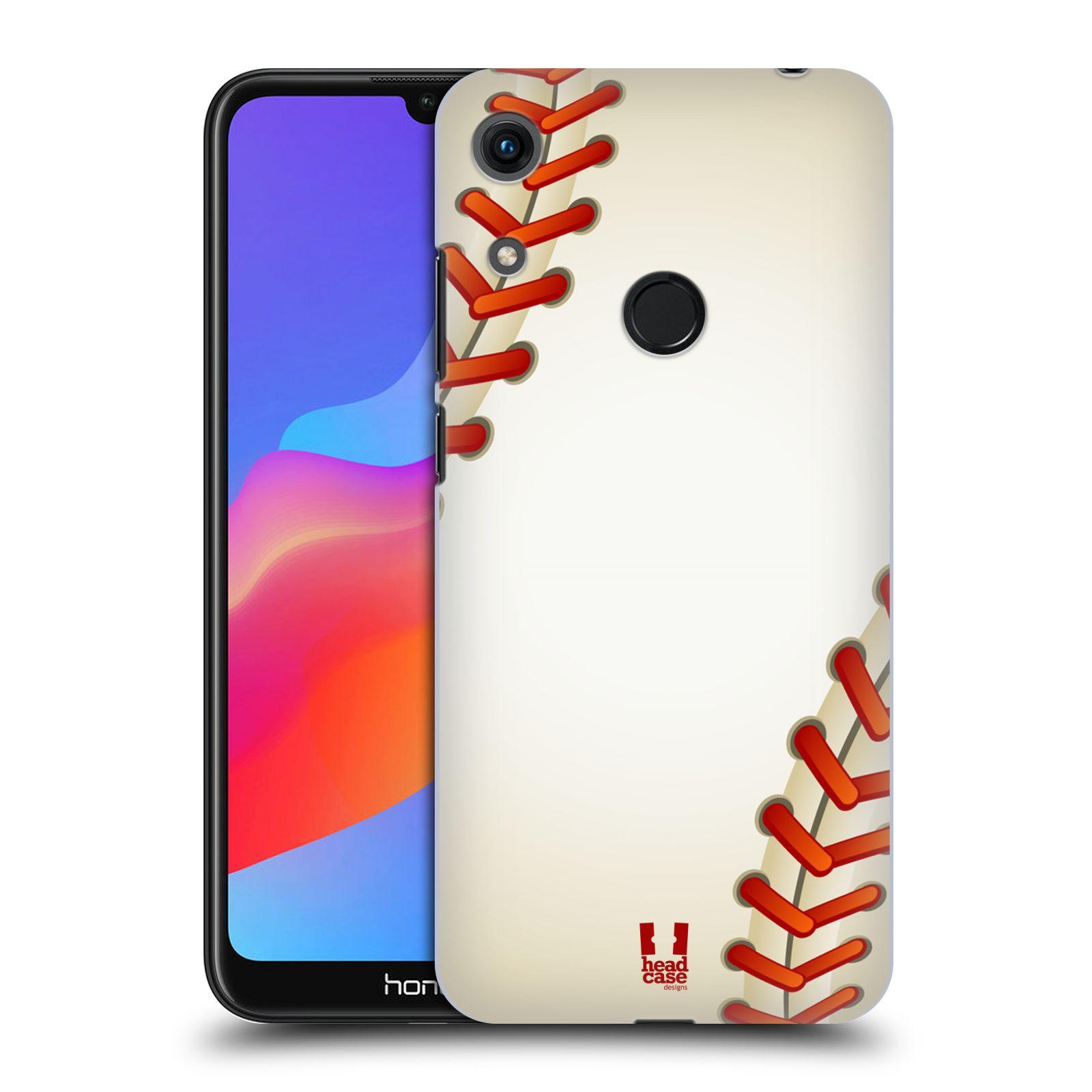 Plastové pouzdro na mobil Honor 8A - Head Case - Baseballový míček