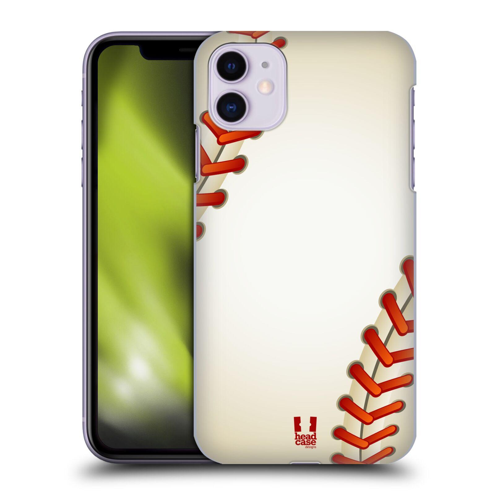 Plastové pouzdro na mobil Apple iPhone 11 - Head Case - Baseballový míček