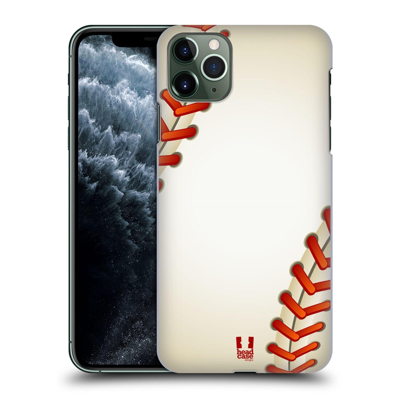 Plastové pouzdro na mobil Apple iPhone 11 Pro Max - Head Case - Baseballový míček