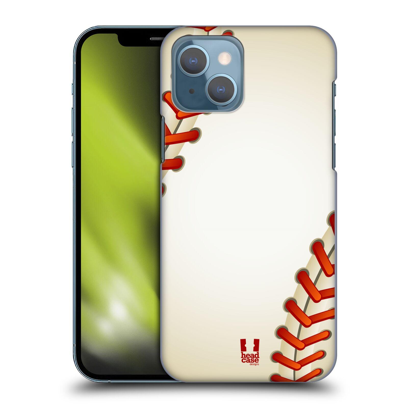 Plastové pouzdro na mobil Apple iPhone 13 - Head Case - Baseballový míček