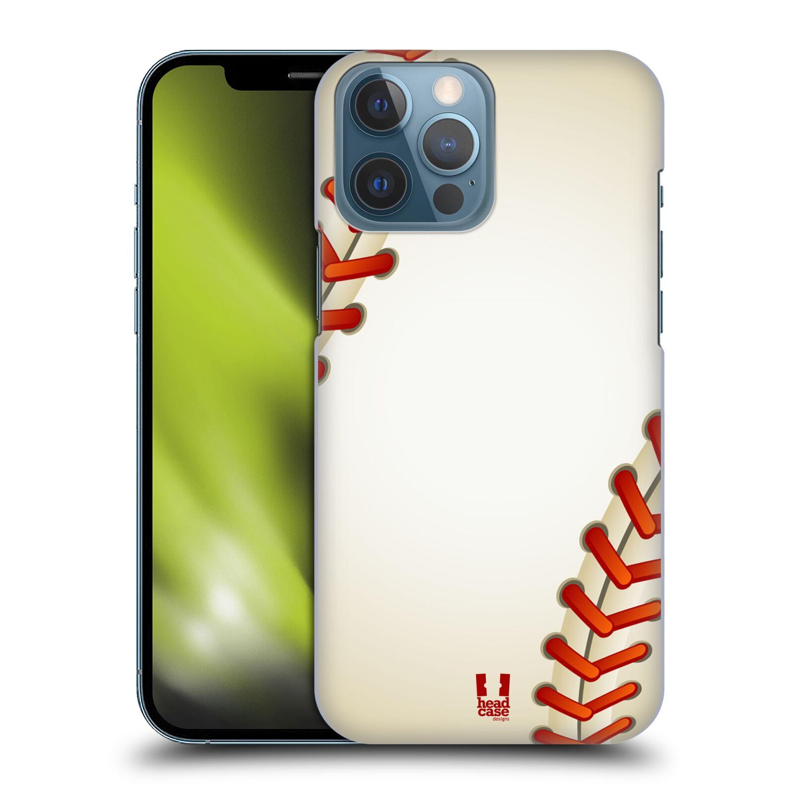 Plastové pouzdro na mobil Apple iPhone 13 Pro Max - Head Case - Baseballový míček